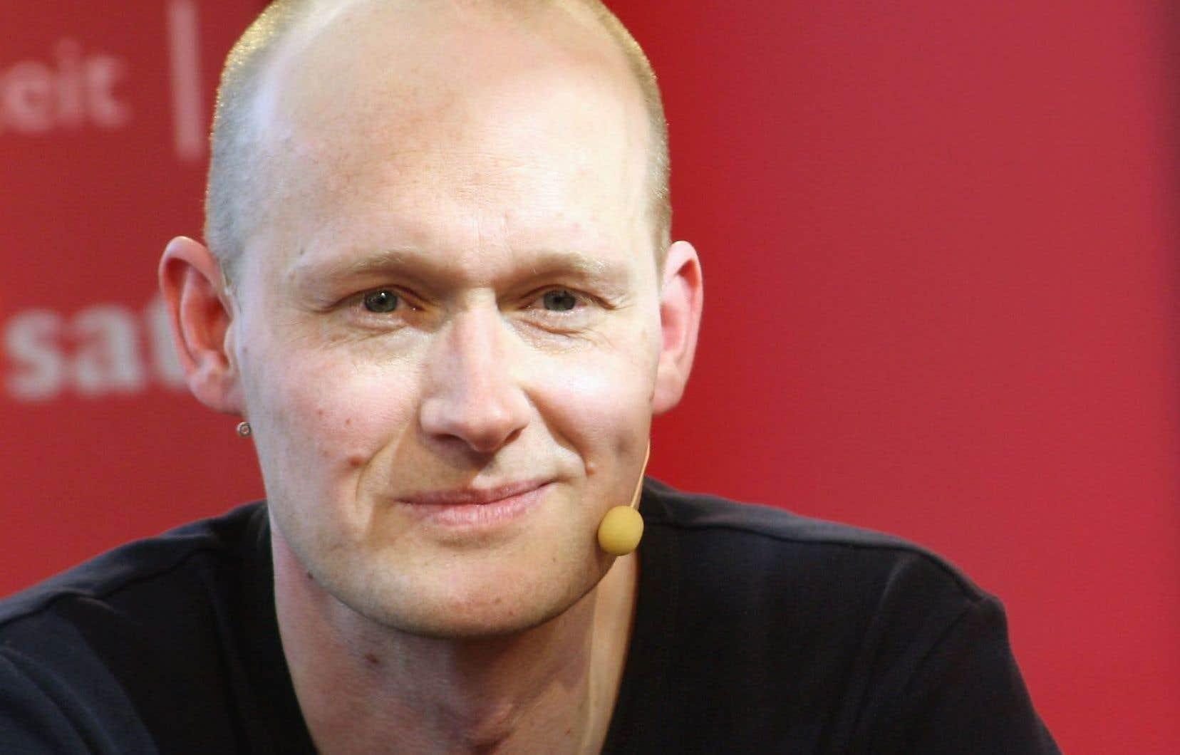 L'écrivain Arno Geiger