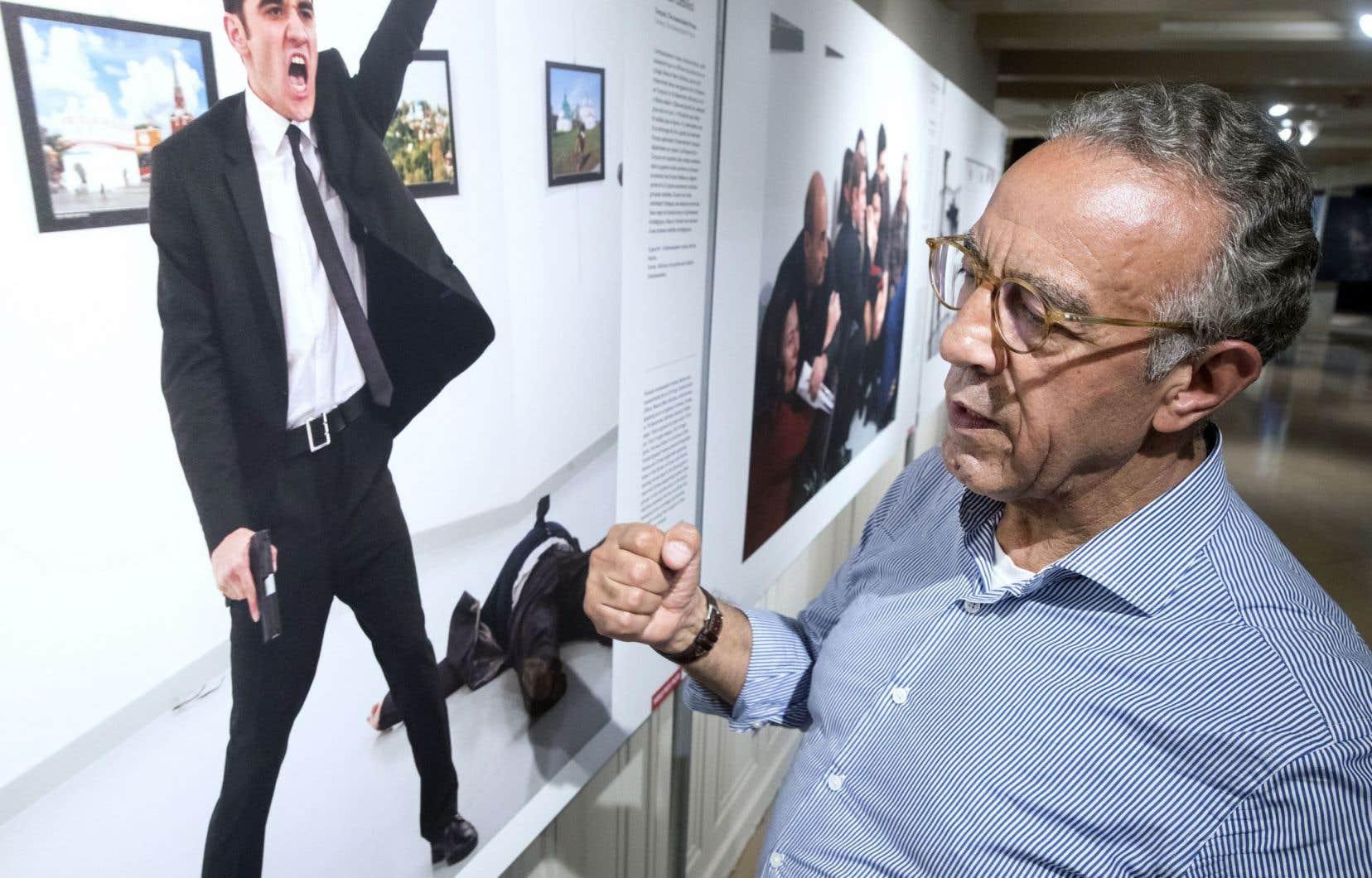 «Ce n'est pas une belle photo. Mais c'est une très grande photo», reconnaît le photographe turc Burhan Özbilici.