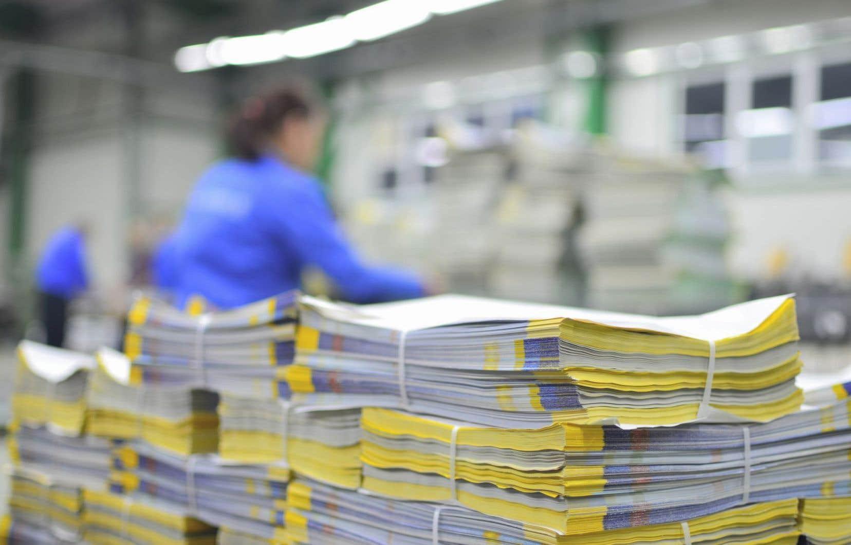 Les deux transactions portent aussi sur la vente des propriétés Web rattachées aux journaux.