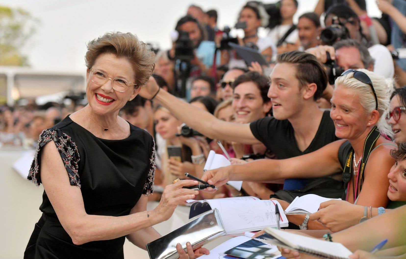 L'actrice s'est dite «ravie» d'avoir été «choisie comme présidente du jury», un honneur accordé uniquement à des hommes au cours des dix dernières Mostra.
