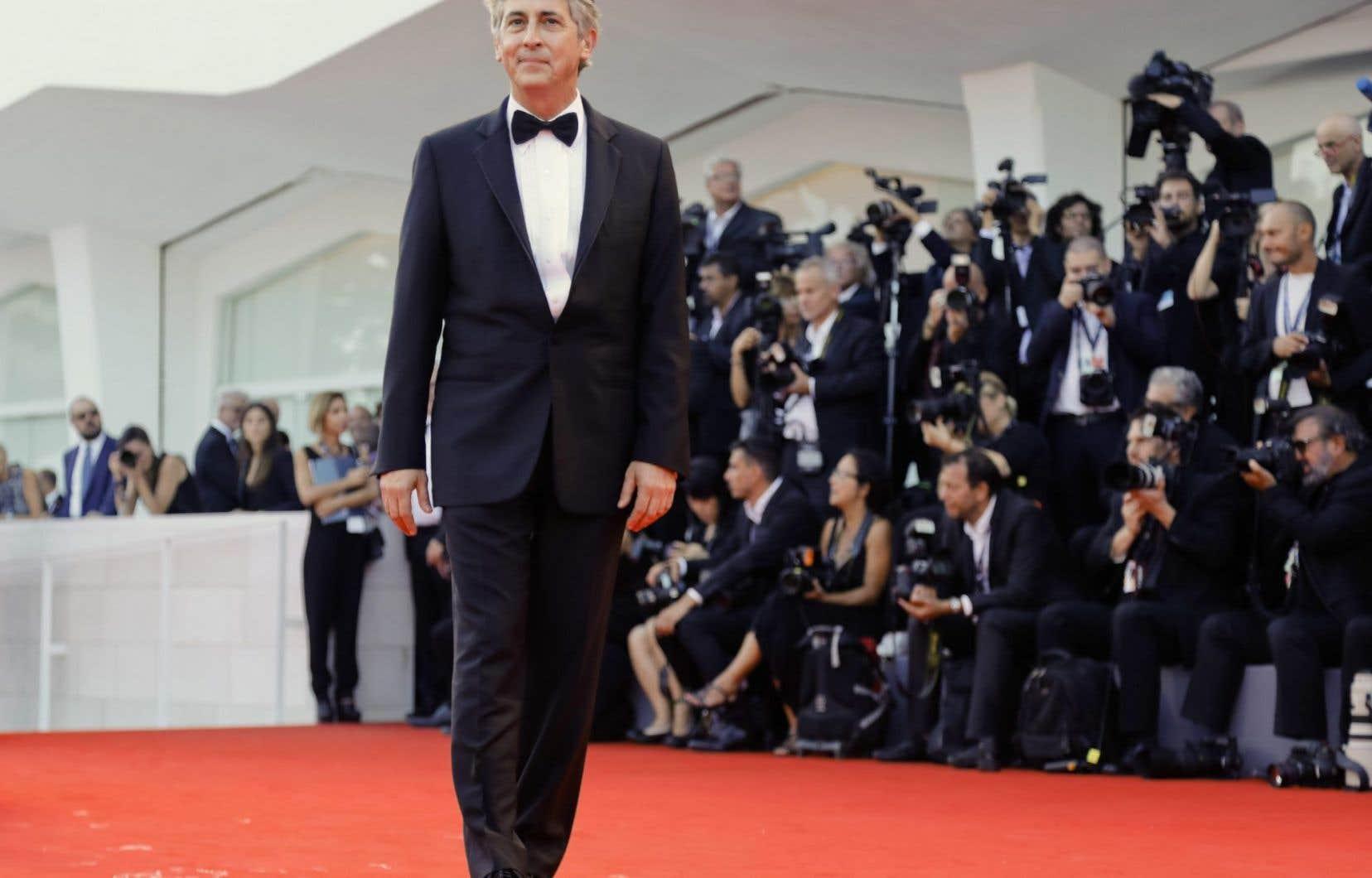Le réalisateur américain Alexander Payne sur le tapis rouge de la Mostra de Venise, mercredi
