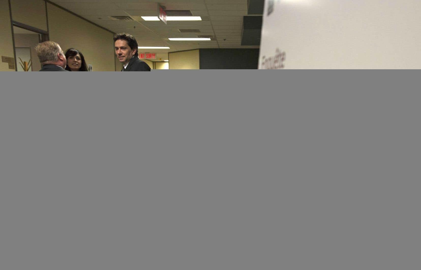 Le pilote Yves Saint-Laurent a témoigné jeudi à Ottawa aux audiences de l'Office des transports du Canada.