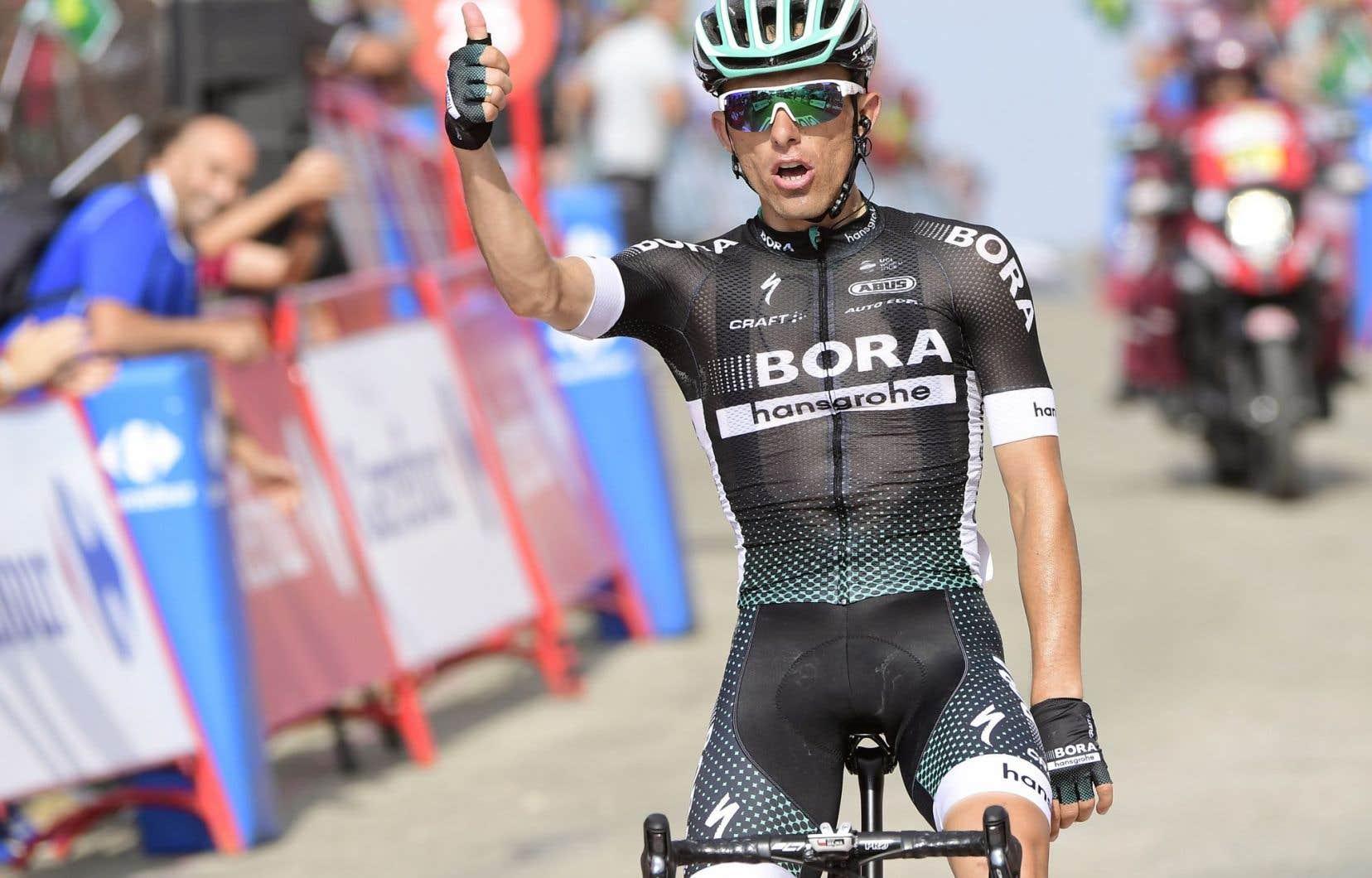 Le cycliste polonais Rafal Majka