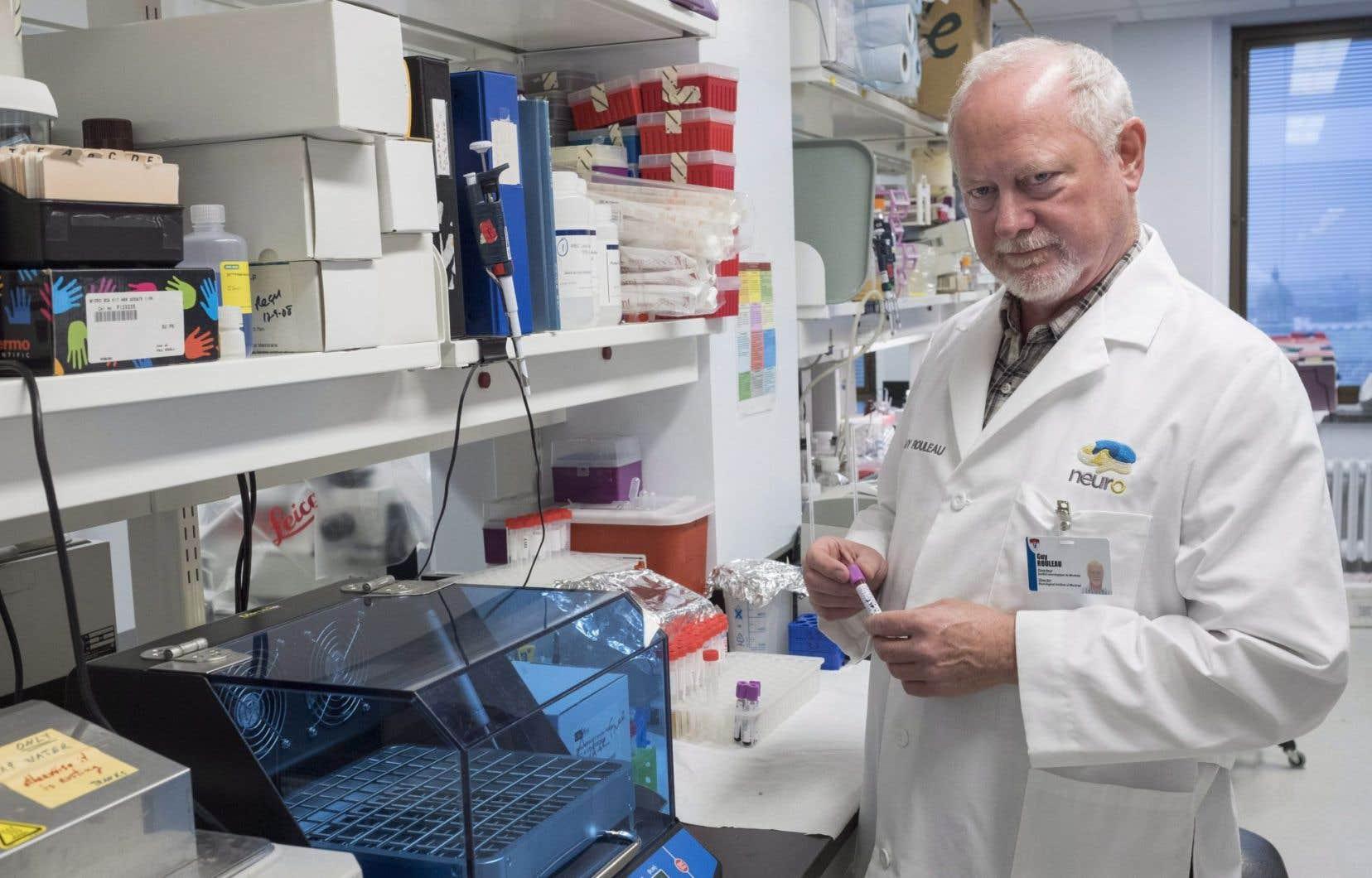 Guy Rouleau, le directeur de l'institut de neurologie de l'Université McGill