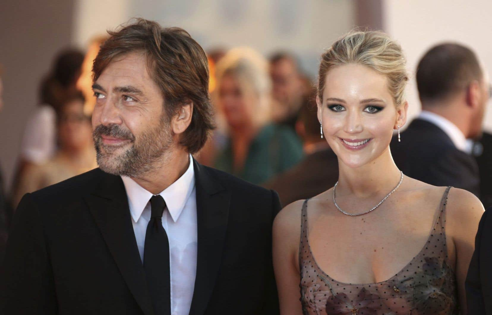 Javier Bardem et Jennifer Lawrence