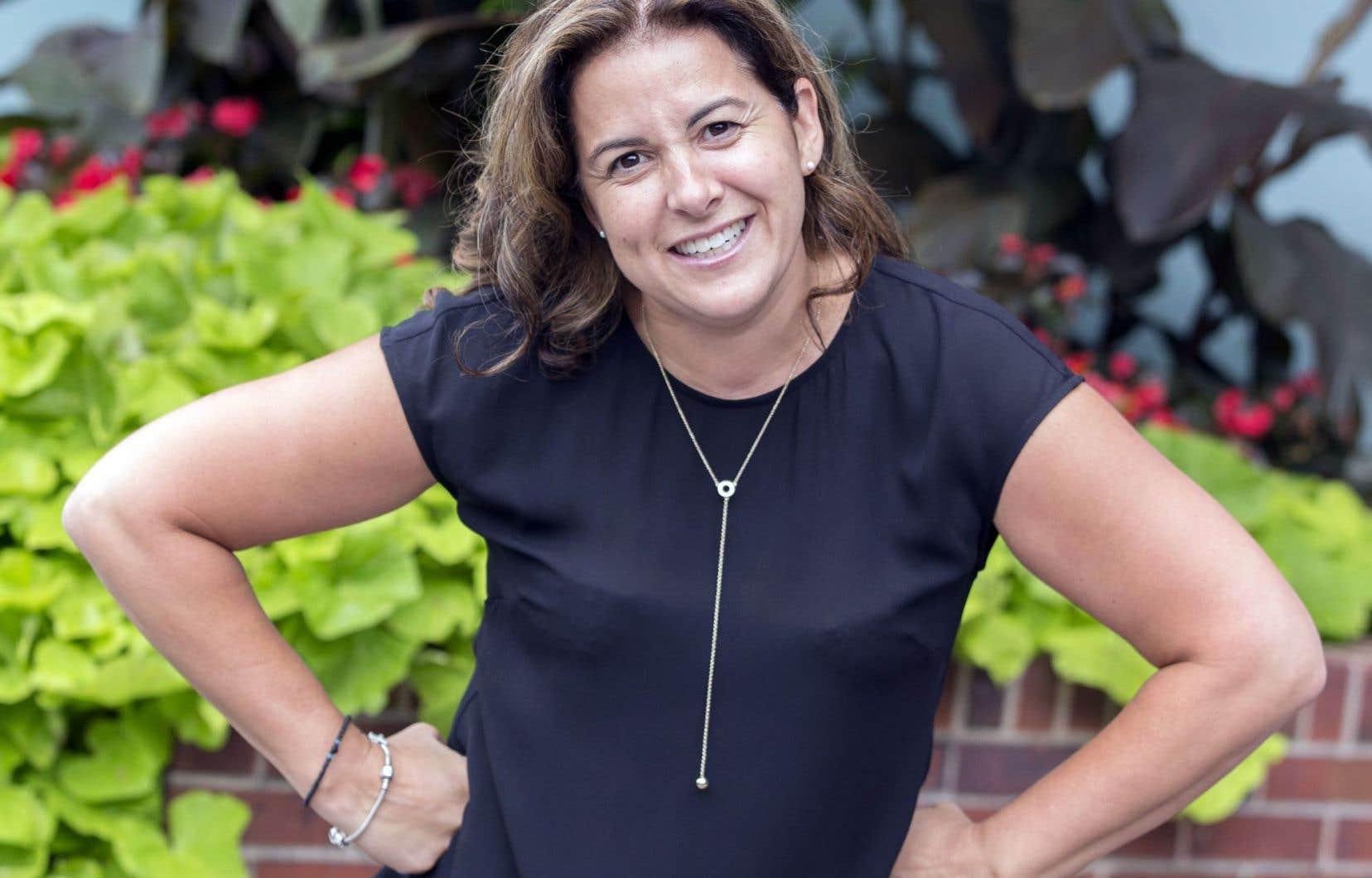 Sonia Baudelot, 44ans, candidate à la mairie de Laval, a suivi une formation du Collège néo-classique pour apprendre à argumenter.