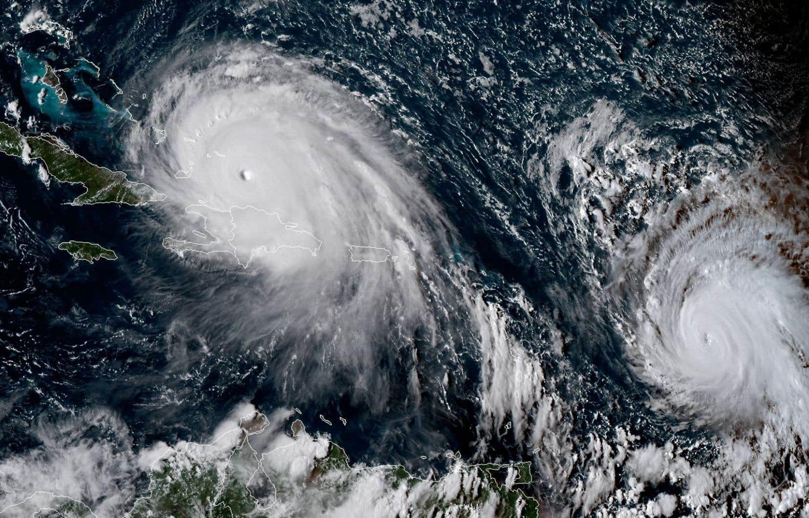 L'ouragan «Jose»se trouve dans l'Atlantique à 700 kilomètres à l'est des Petites Antilles.