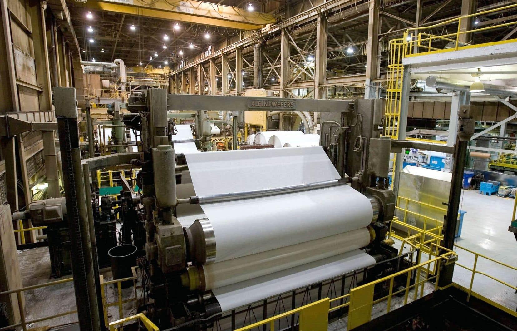L'usine de Trois-Rivières de même que celle de Brompton se tourneront notamment vers les papiers pour emballages alimentaires et les produits d'étiquetage.