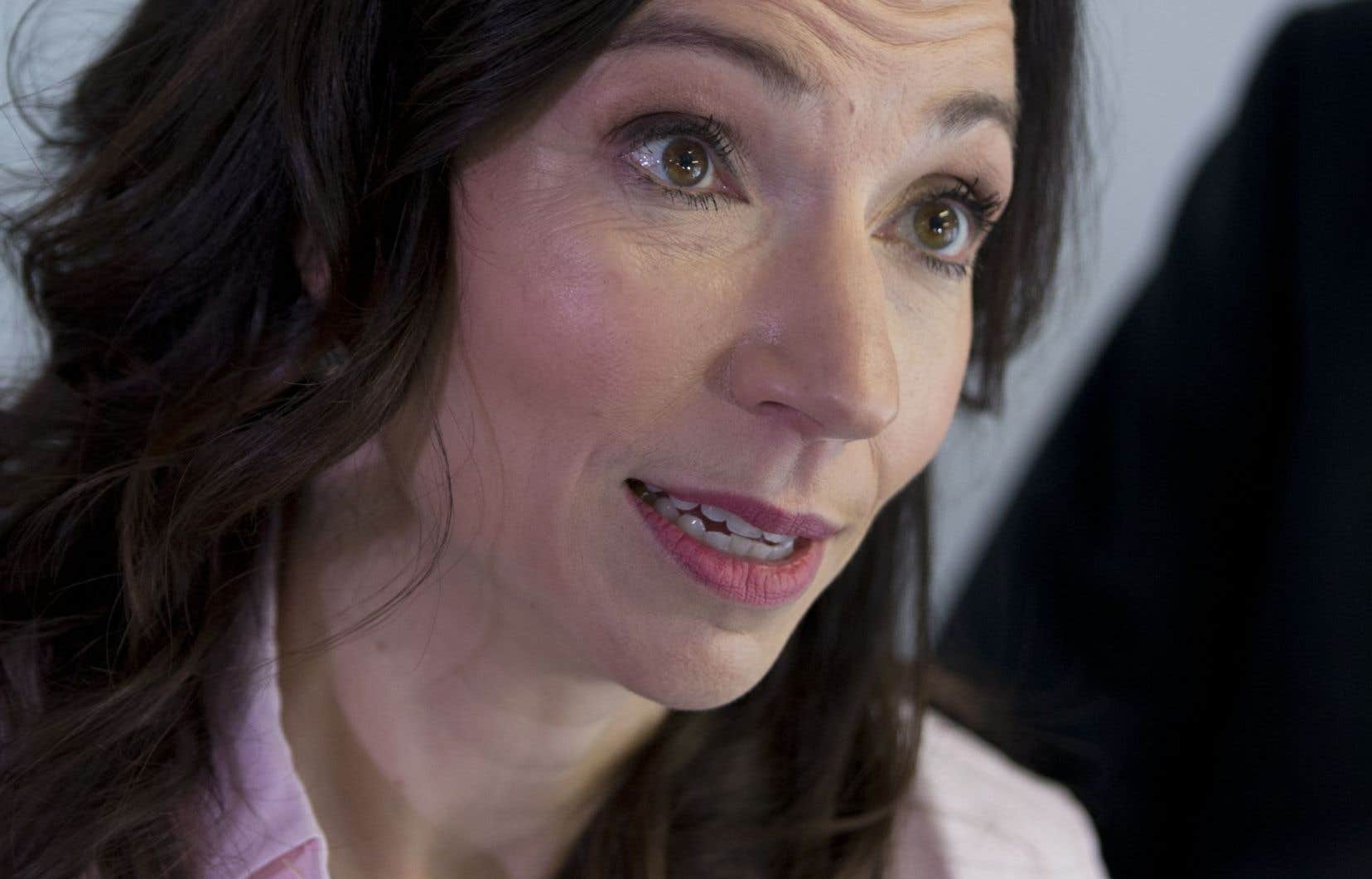 L'ex-ministre des Ressources naturelles, Martine Ouellet