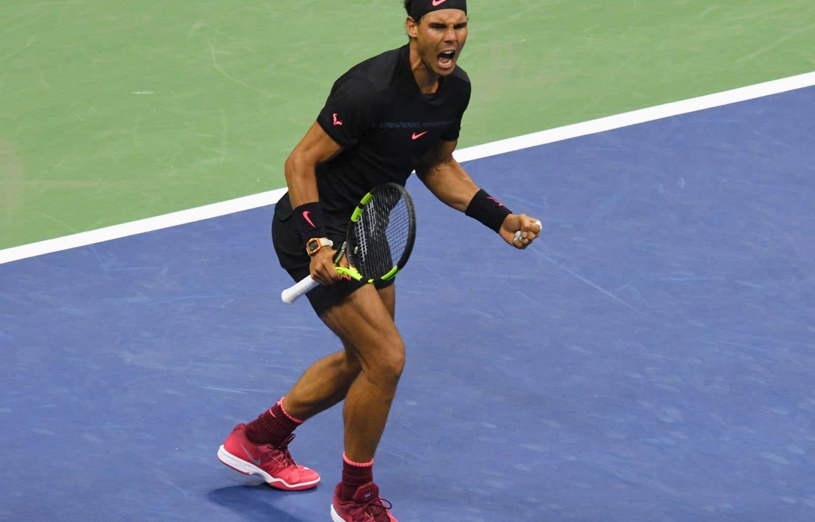 Le favori du tournoi, Rafael Nadal, sera à la recherche d'un troisième titre à Flushing Meadows.