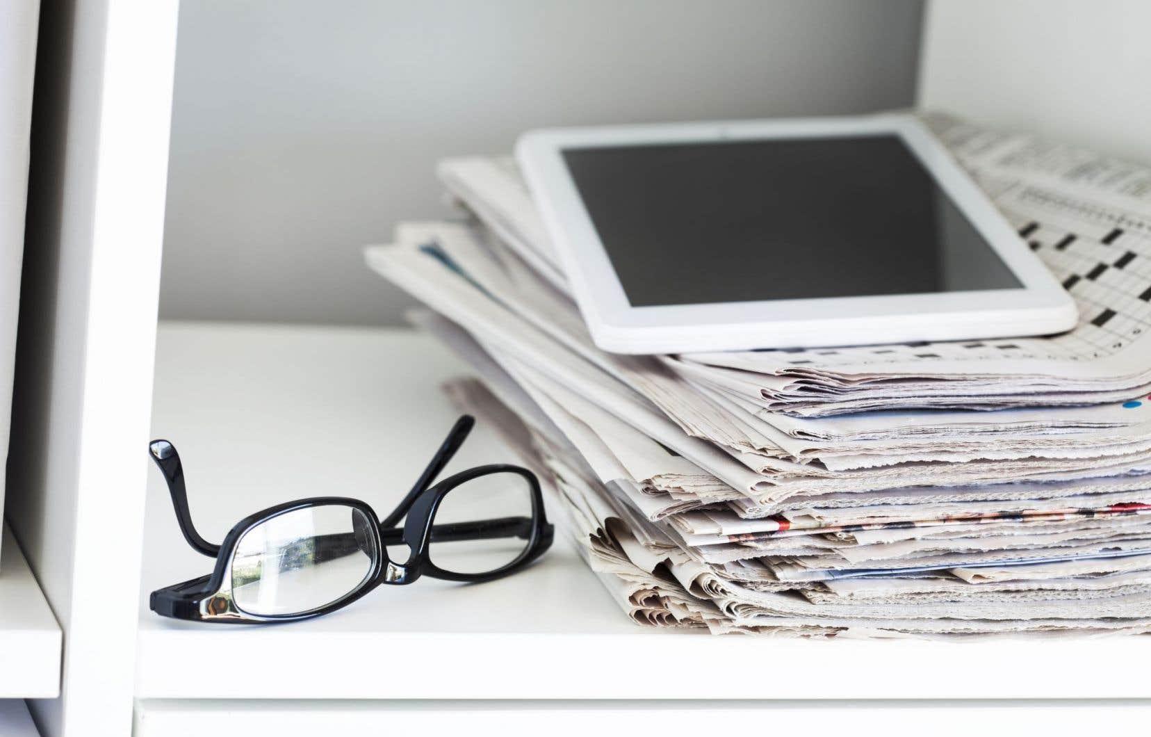 L'avenir de l'information ne ressort pas du tout comme une priorité de cette nouvelle politique.