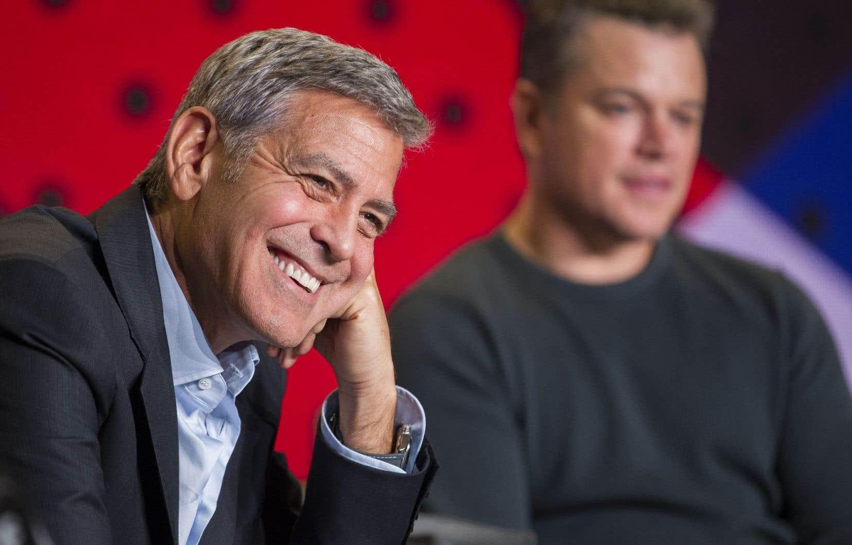 George Clooney dirige l'acteur Matt Damon dans «Suburbicon».