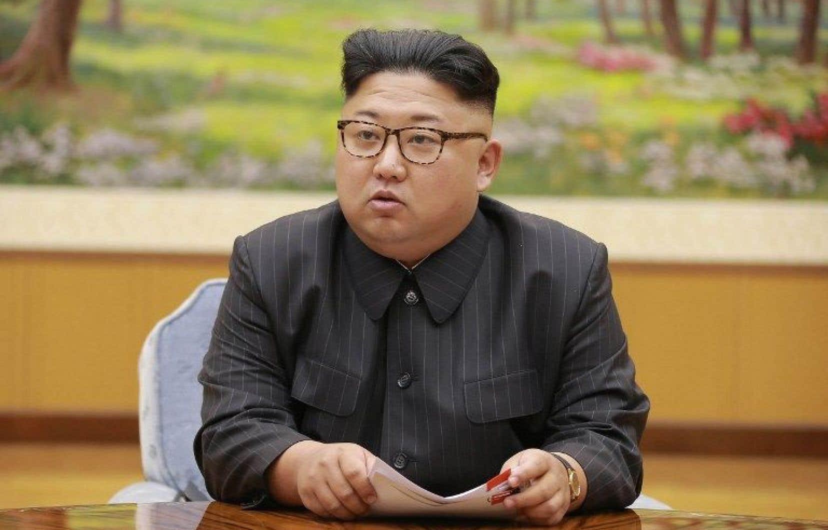 Le dirigeant nord-coréen, Kim Jong-un