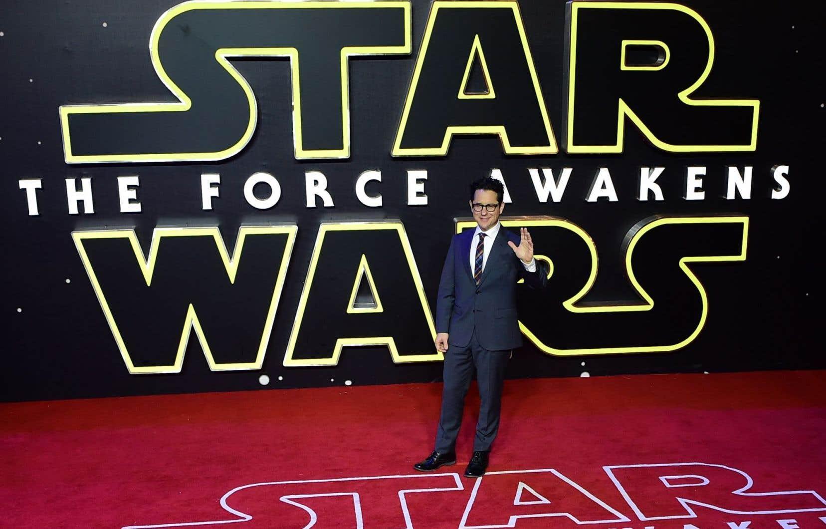Le réalisateur J.J. Abrams, lors de la première européenne de «Star Wars – Le Réveil de la Force».