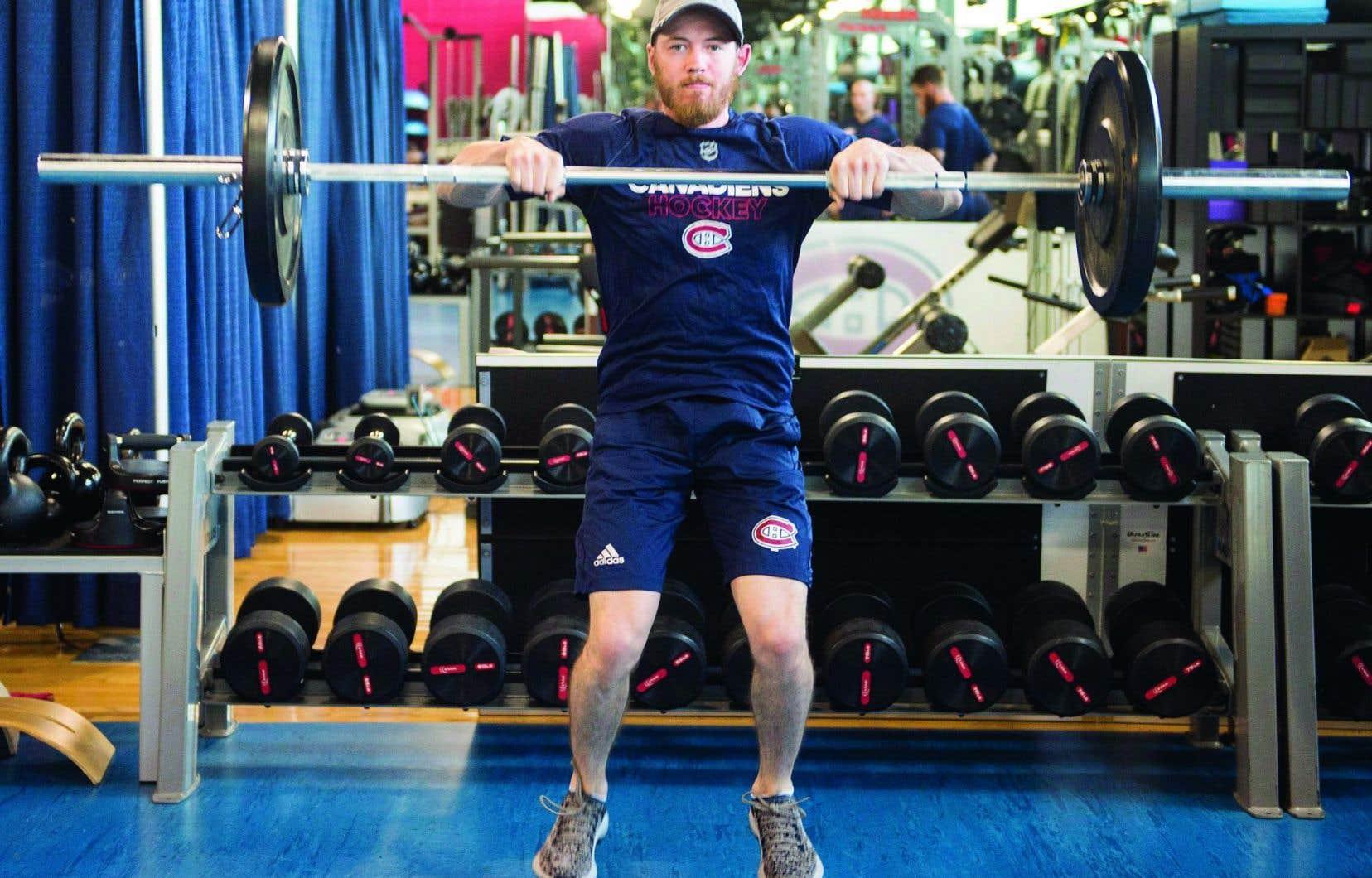 Paul Byron a mis les bouchées doubles à l'entraînement au cours de l'été, qu'il a passé à Montréal.