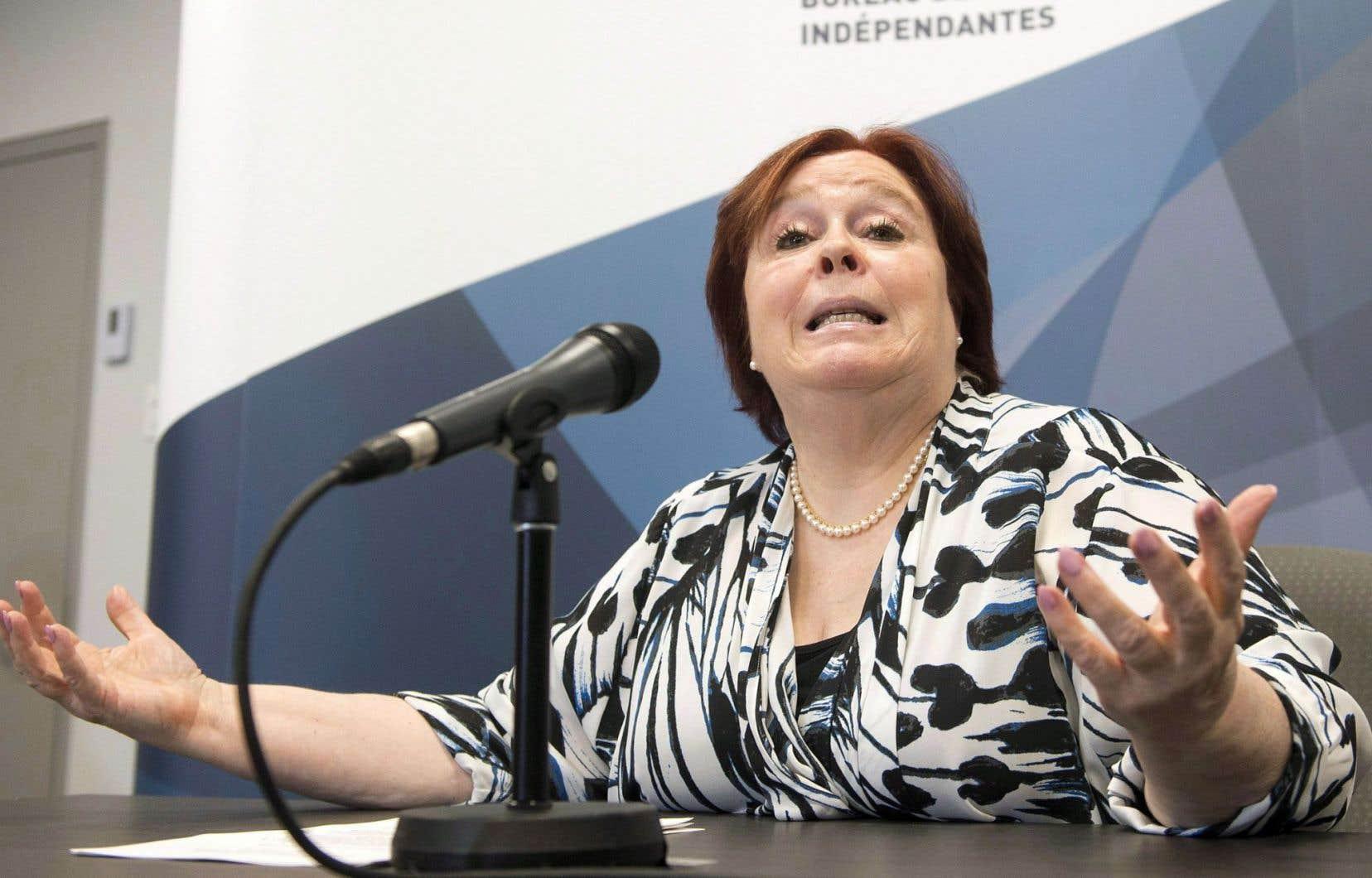 Madeleine Giauque, directrice du Bureau des enquêtes indépendantes, a accepté l'invitation de la SQ d'agir comme cogestionnaire de l'enquête sur les allégations du président de la Fraternité des policiers de Montréal.