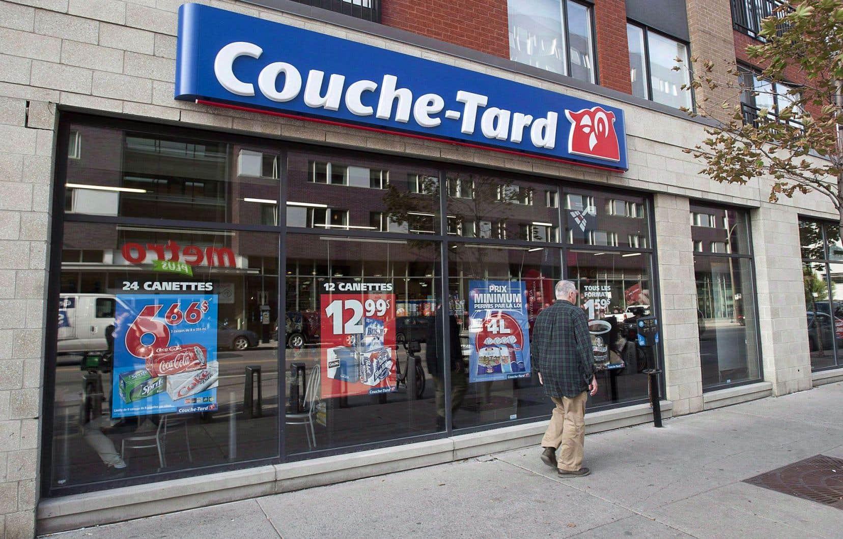 Couche-Tard avait retenu les services d'une lobbyiste afin de se faire entendre auprès de Québec dans ce dossier.