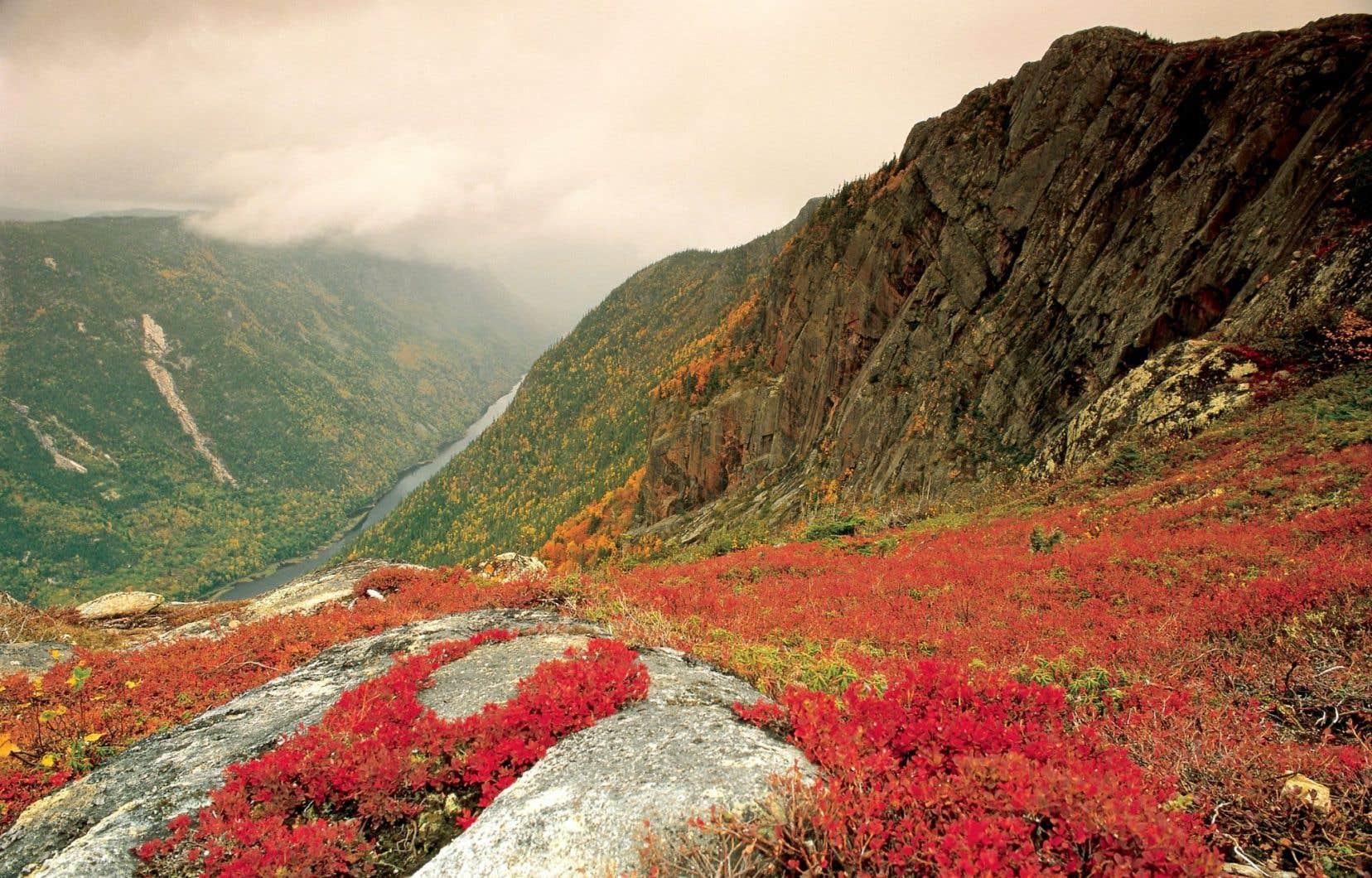 foto de Le parc national des Hautes-Gorges-de-la-rivière-Malbaie, pour le ...