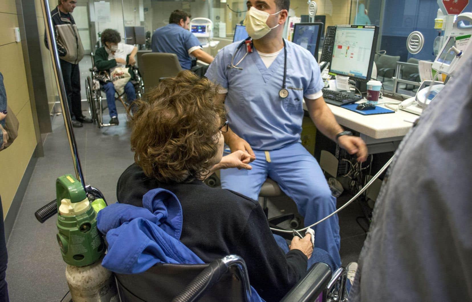 Seulement 26% des Québécois qualifient d'excellents ou de très bons les soins de santé obtenus.