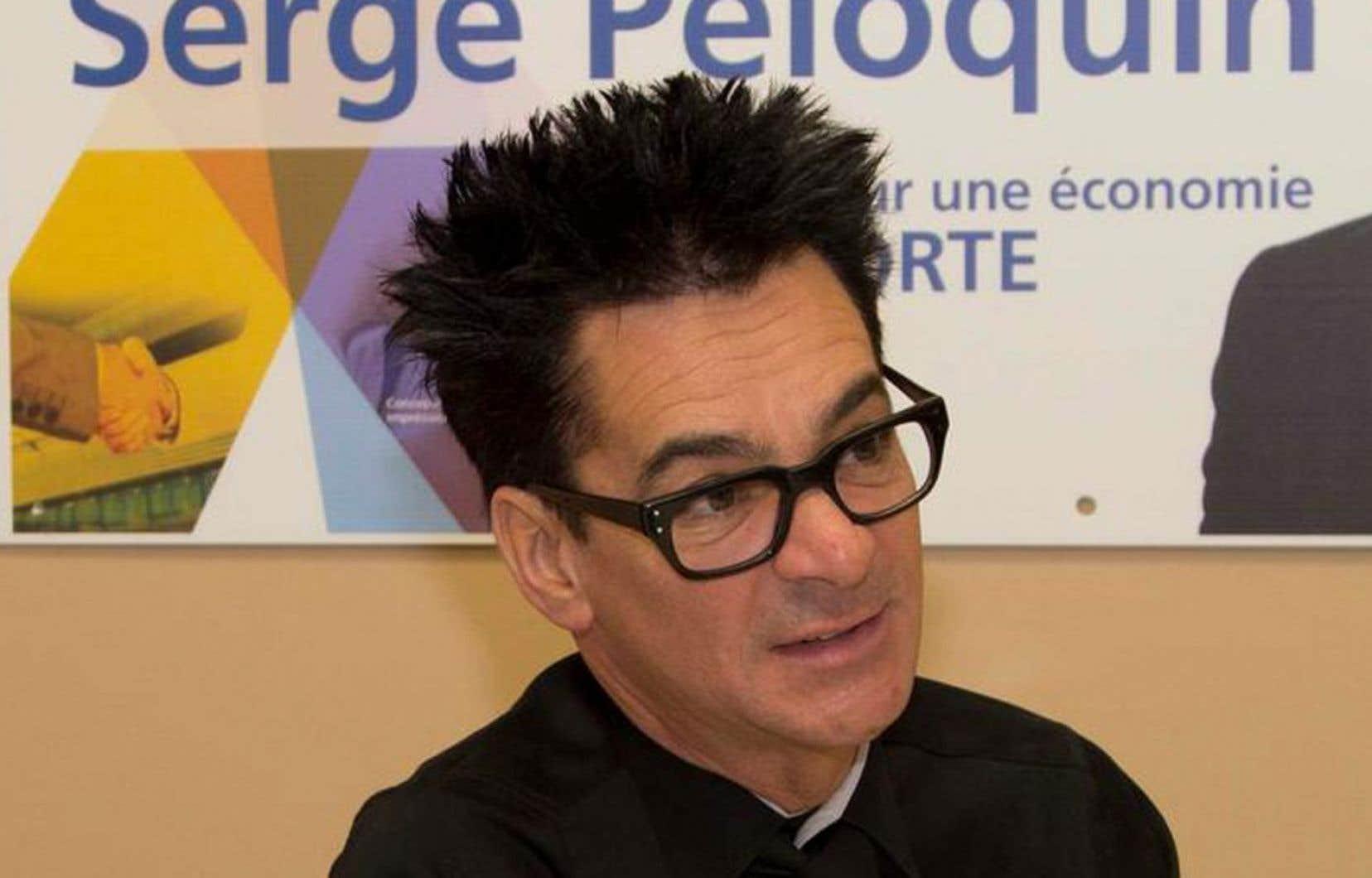 Le maire Serge Péloquin