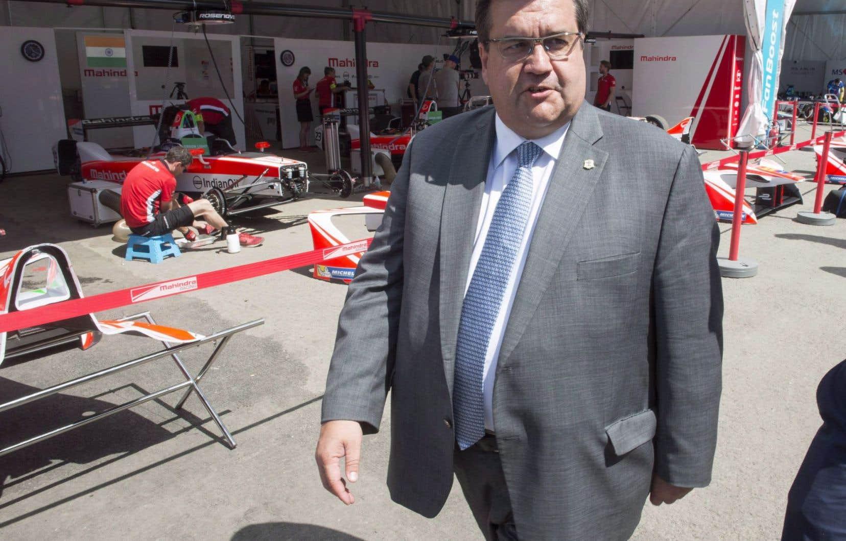 Le maire sortant de Montréal, Denis Coderre