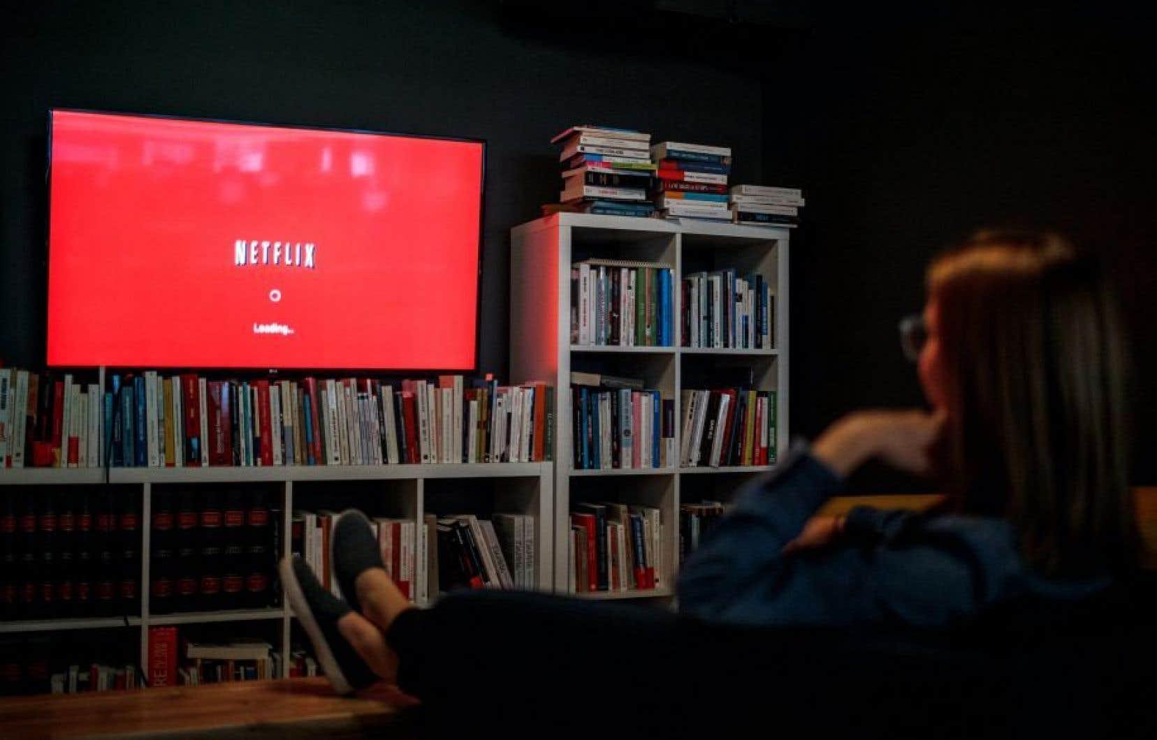 Le fédéral a obtenu une entente financière avec Netflix, à qui Ottawa n'imposera pas de taxe.