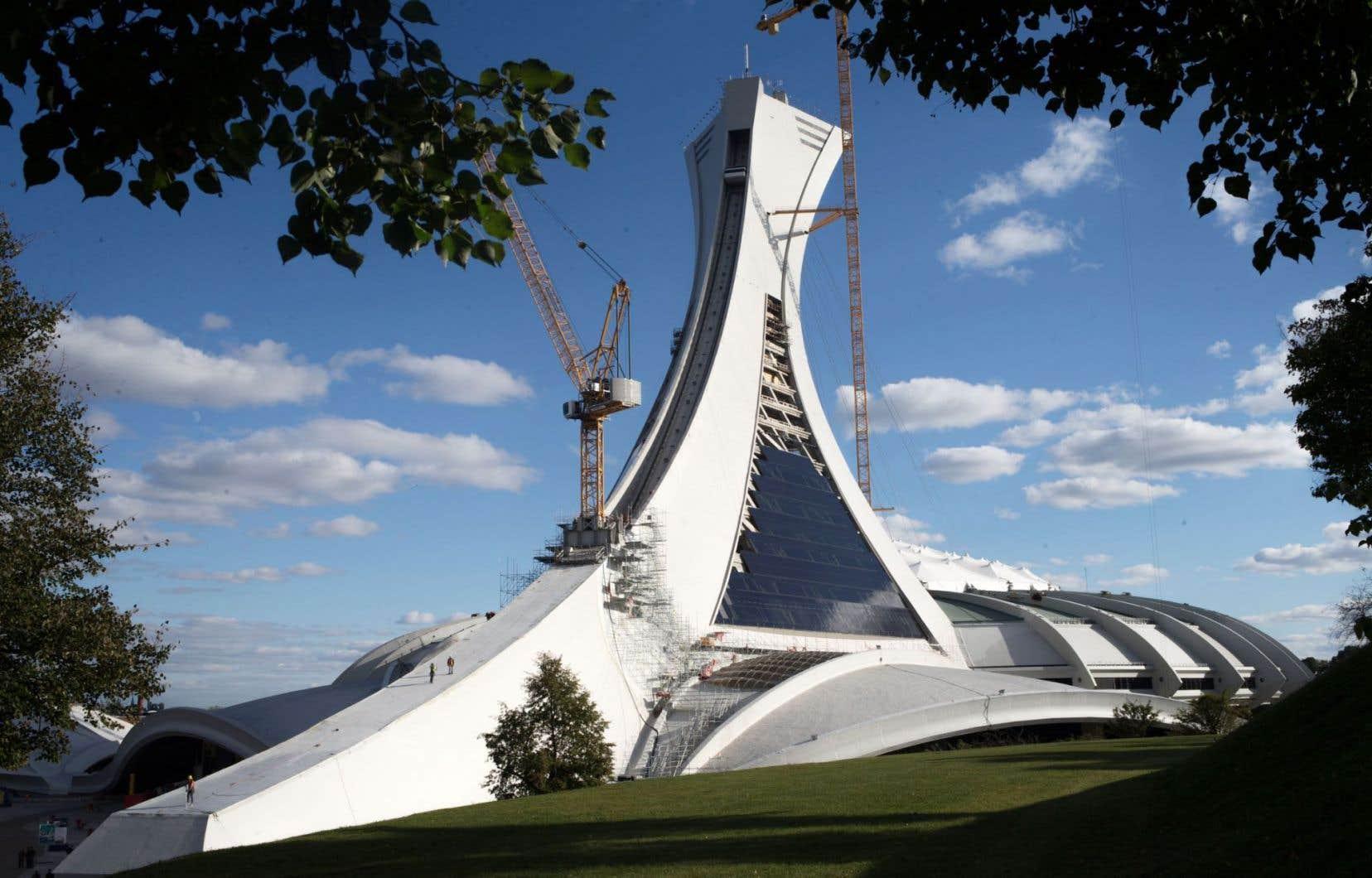 Une étude conclut que le Parc olympique présente un intérêt patrimonial pour sa valeur historique, témoignant notamment de «l'immense ambition» du maire Jean Drapeau.
