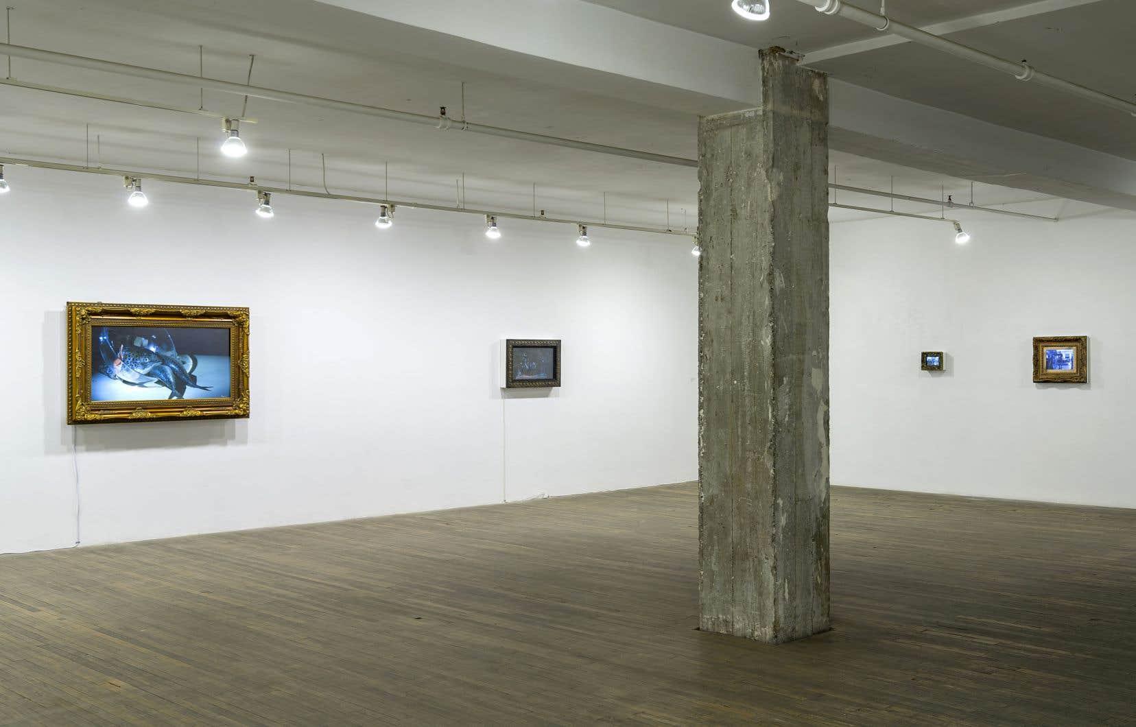 Actif depuis 40ans, l'artiste Richard Purdy ne fait rien comme les autres.