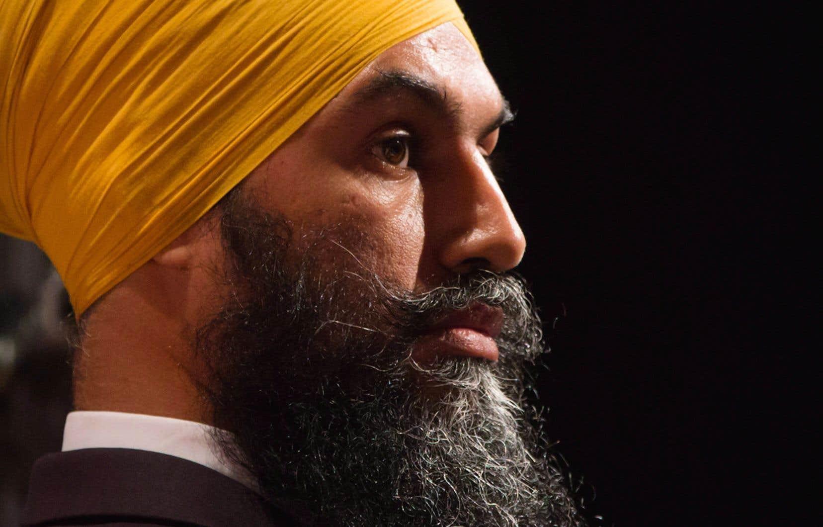 M.Singh est en politique partisane depuis 2011.