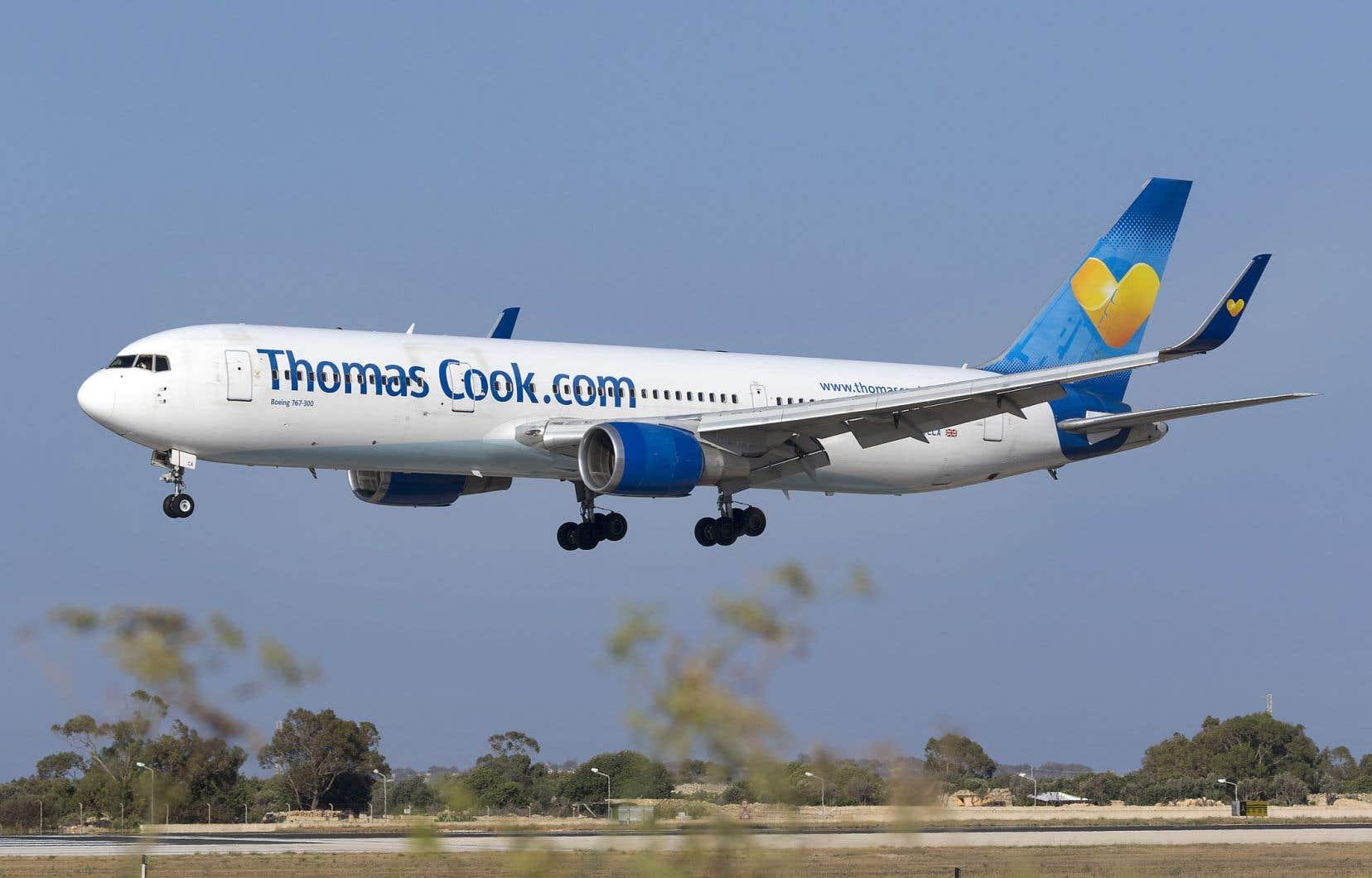La flotte de la composante aérienne de Thomas Cook comprend 94 appareils, dont 61 Airbus (11 A330 et 50 de la gamme des A320) et 33 Boeing (B767 et B757).