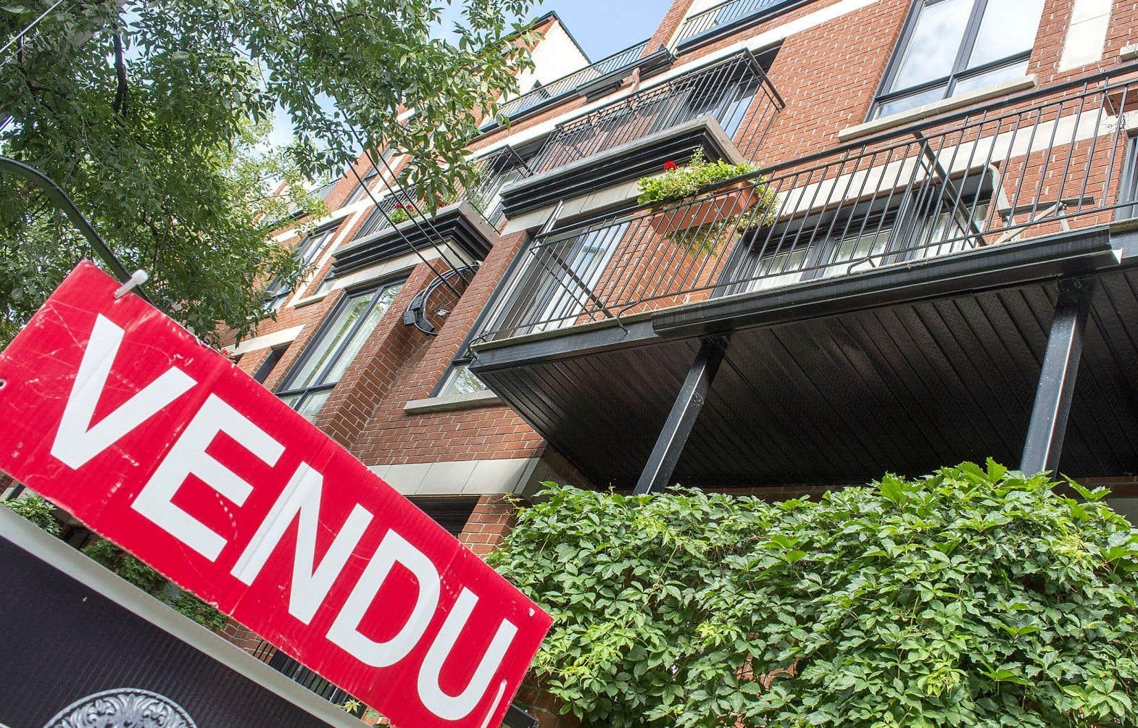 Les dettes hypothécaires comptent pour les deux tiers de l'endettement des ménages au Canada.