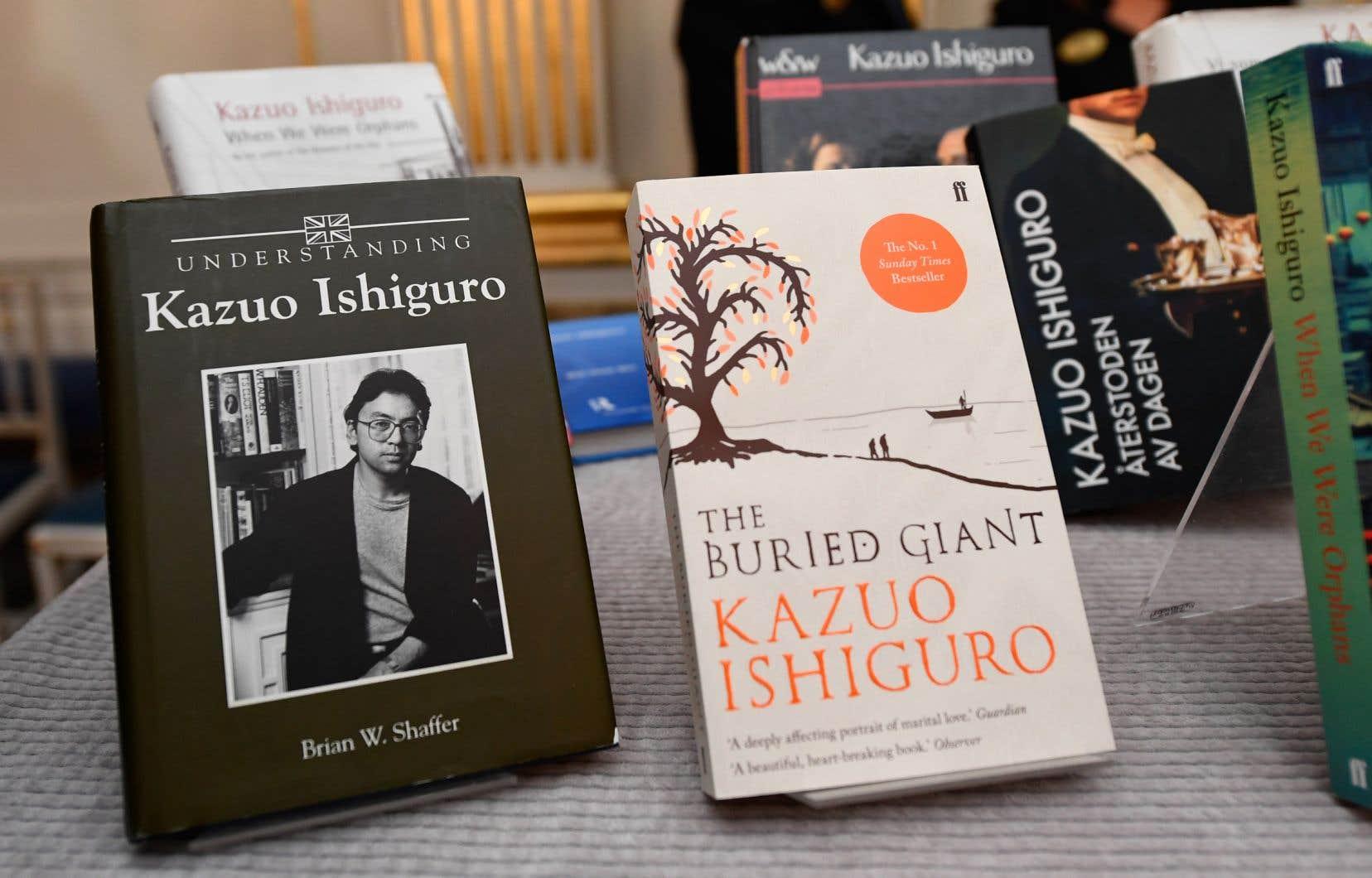 Le prix Nobel de littérature récompense l'écrivain britannique d'origine japonaise, Kazuo Ishiguro.