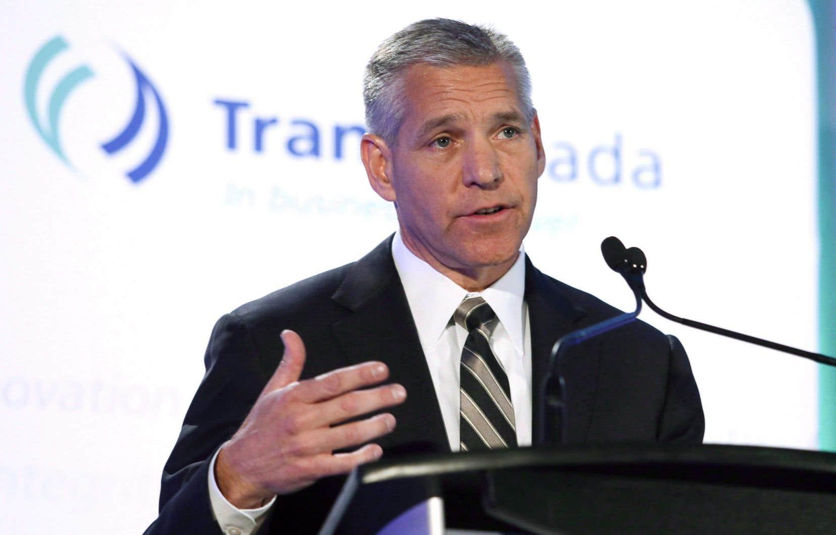 Russ Girling explique que TransCanada ne poursuivra pas ses démarches pour le projet Énergie Est et pour le Réseau Principal Est.