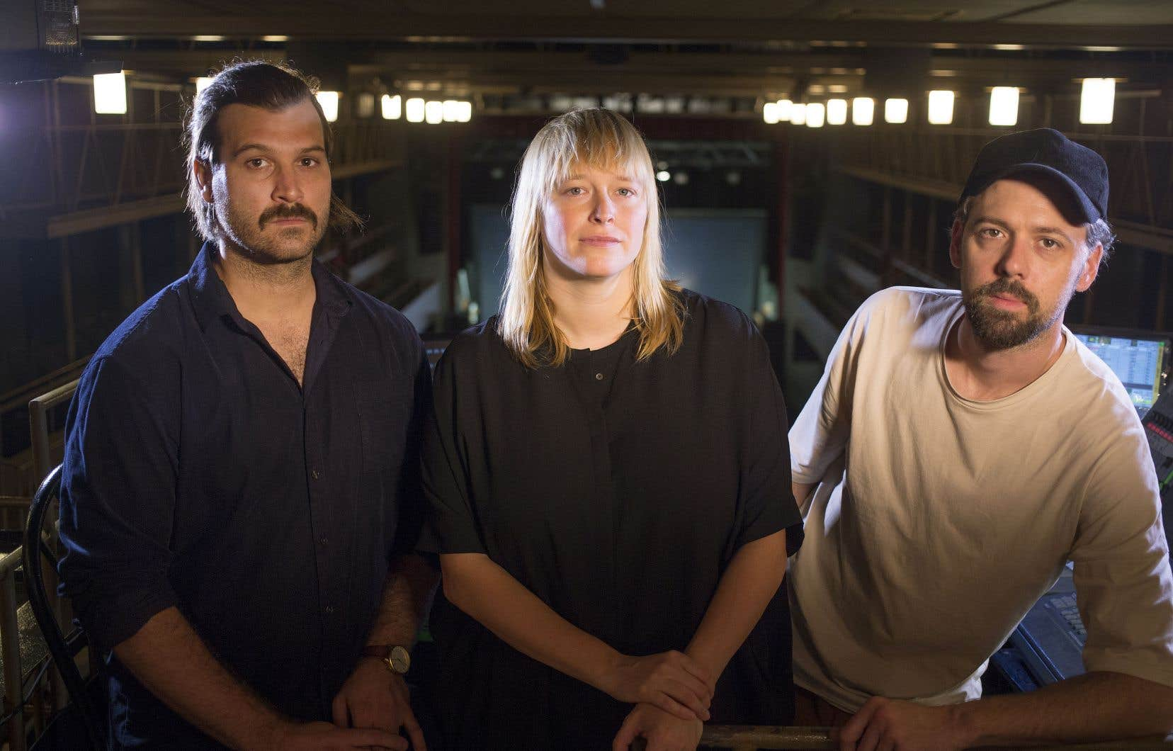 Le trio Dear Criminals sera en spectacle au Festival du nouveau cinéma ce vendredi à 21h.