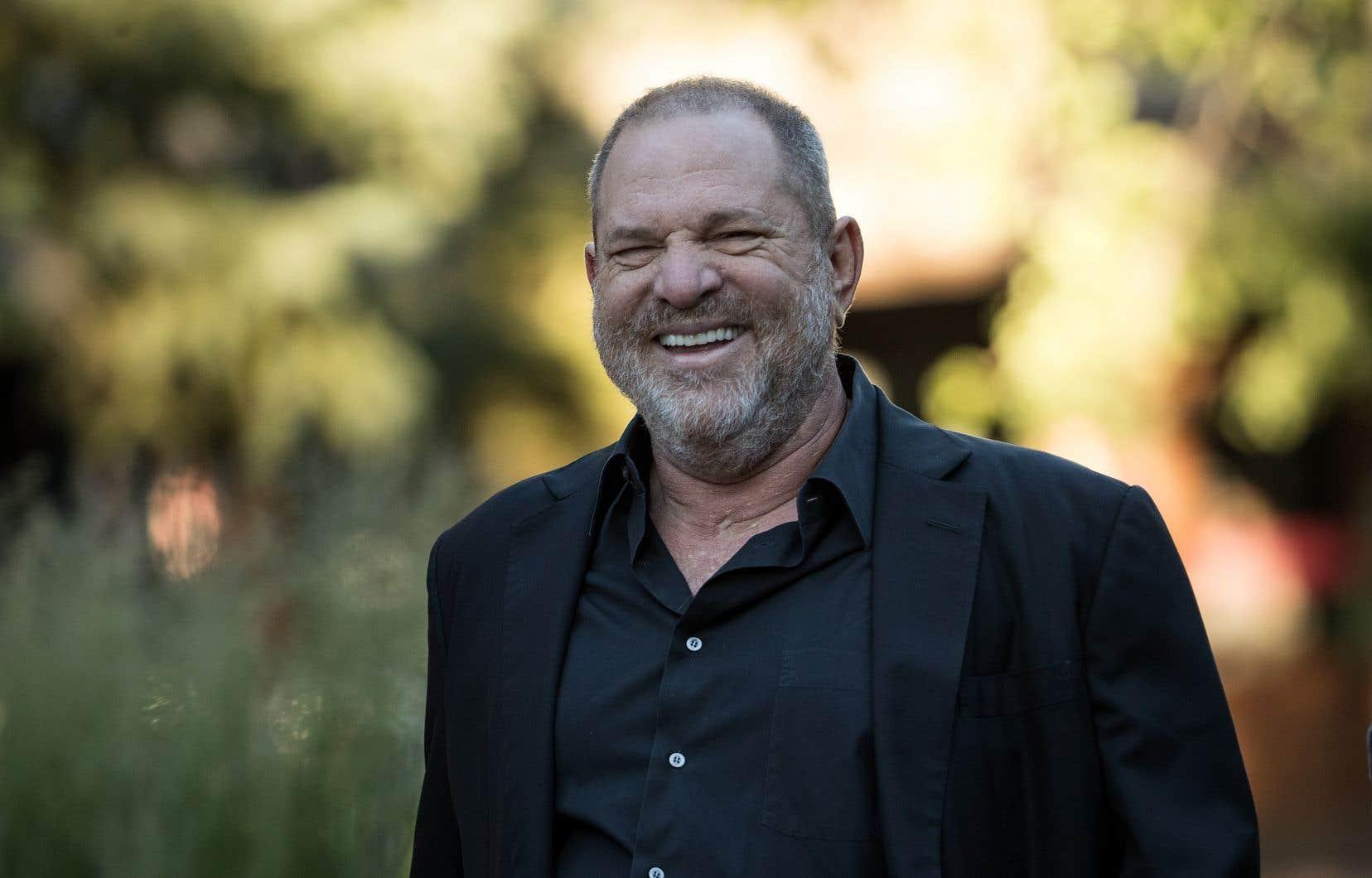 Le producteur américainHarvey Weinstein