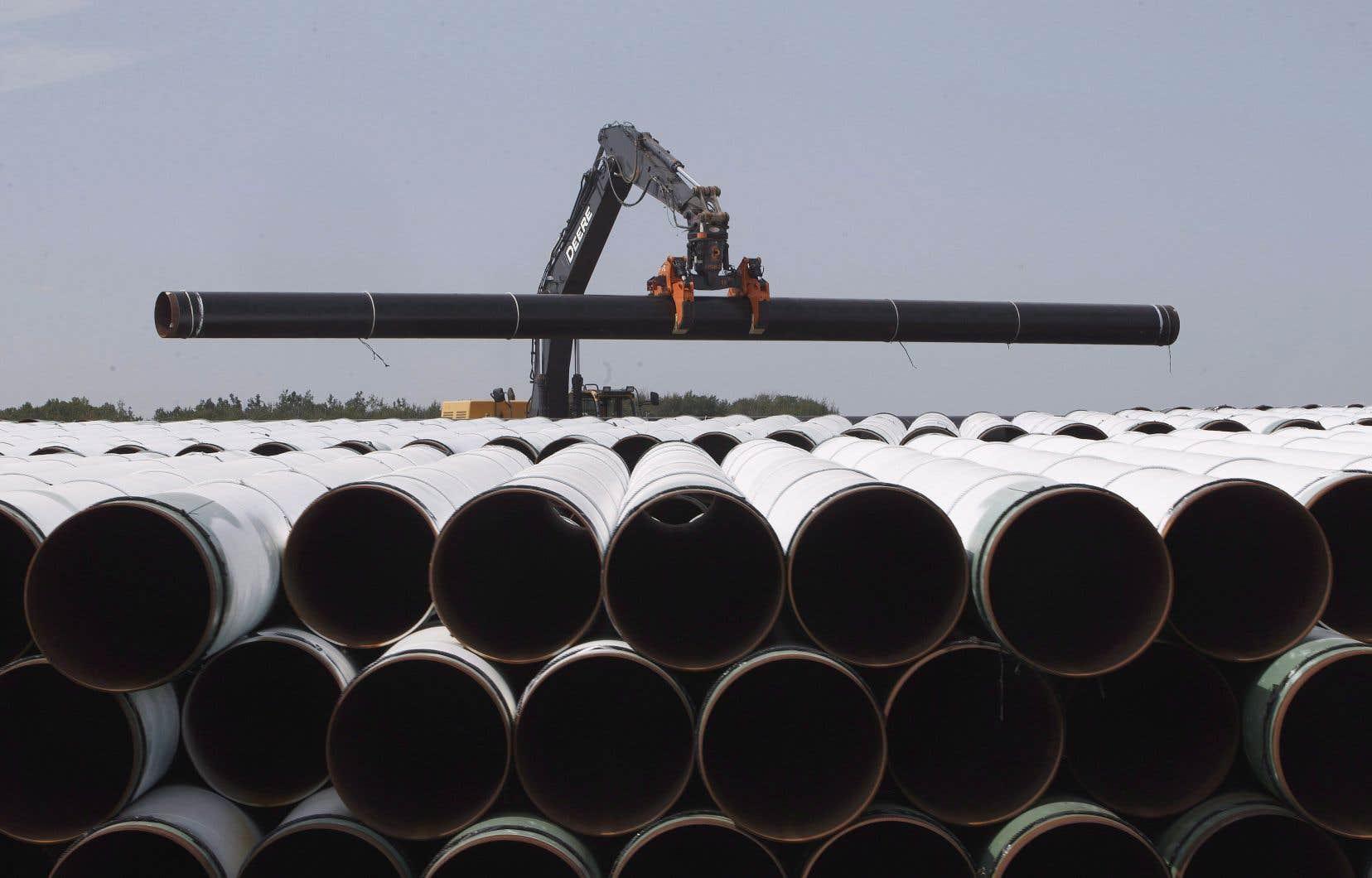 Le projet de pipeline devait créer 33 emplois permanents au Québec.