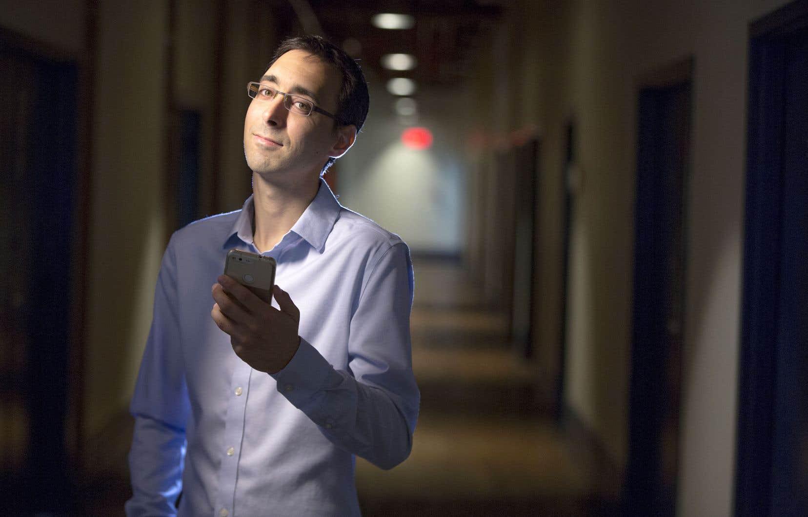 Guillaume Marcade a imaginé, avec son collègue Nadir Marcos, un «Expedia des télécommunications».