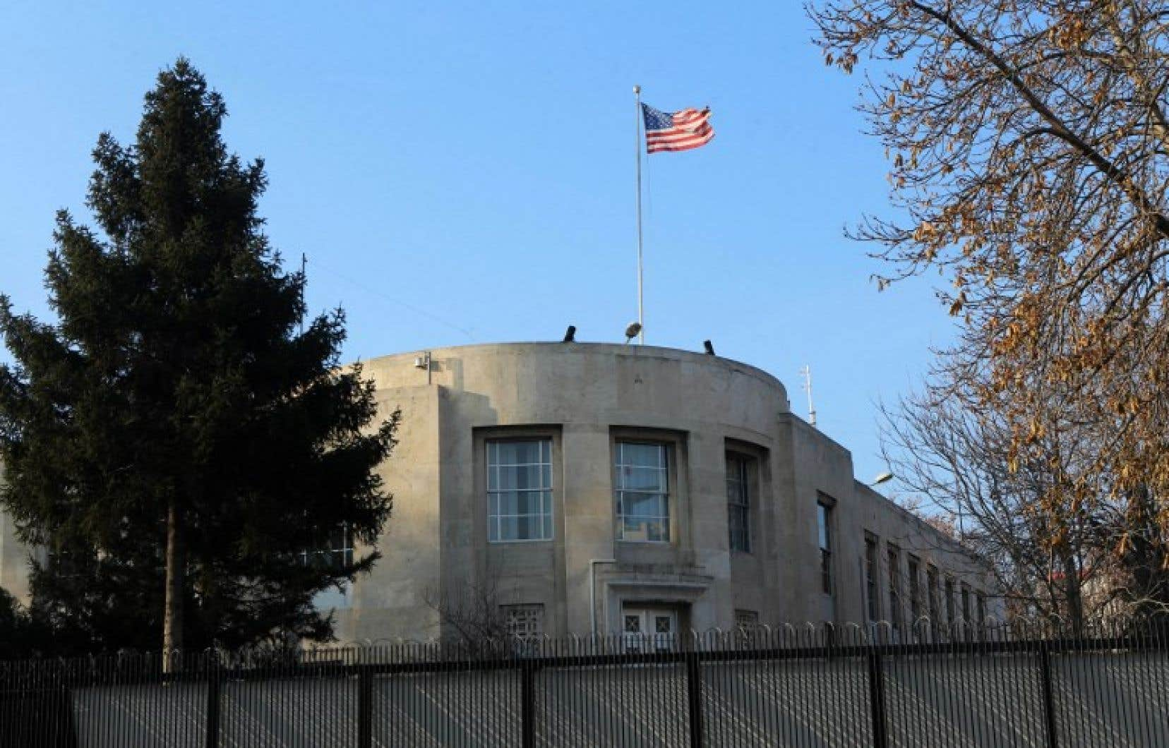 L'ambassade américaine à Ankara