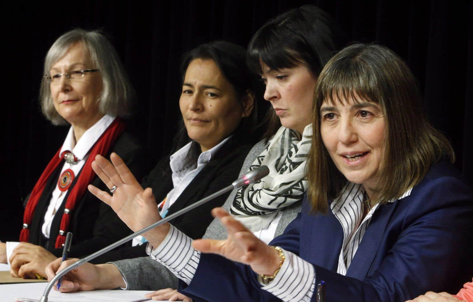 L'annonce signée par Marion Buller, commissaire en chef, survenait le lendemain de l'entrée en poste de sa nouvelle directrice générale.