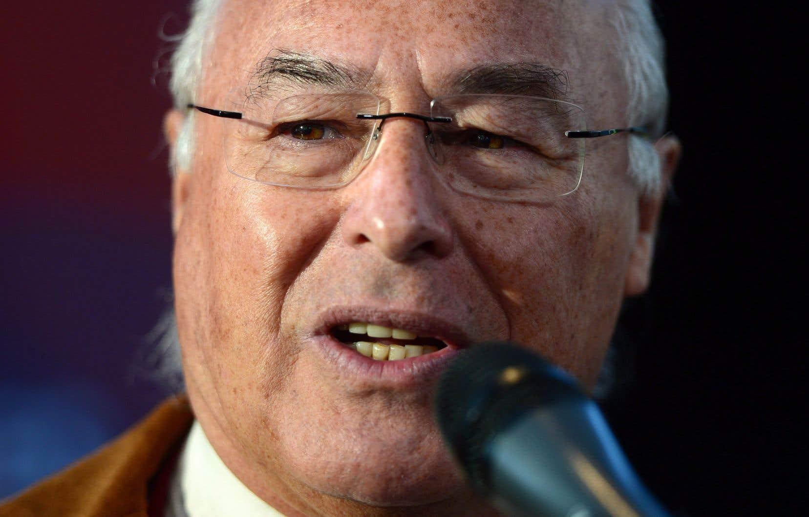 Le président du Conseil national des Métis, Clément Chartier