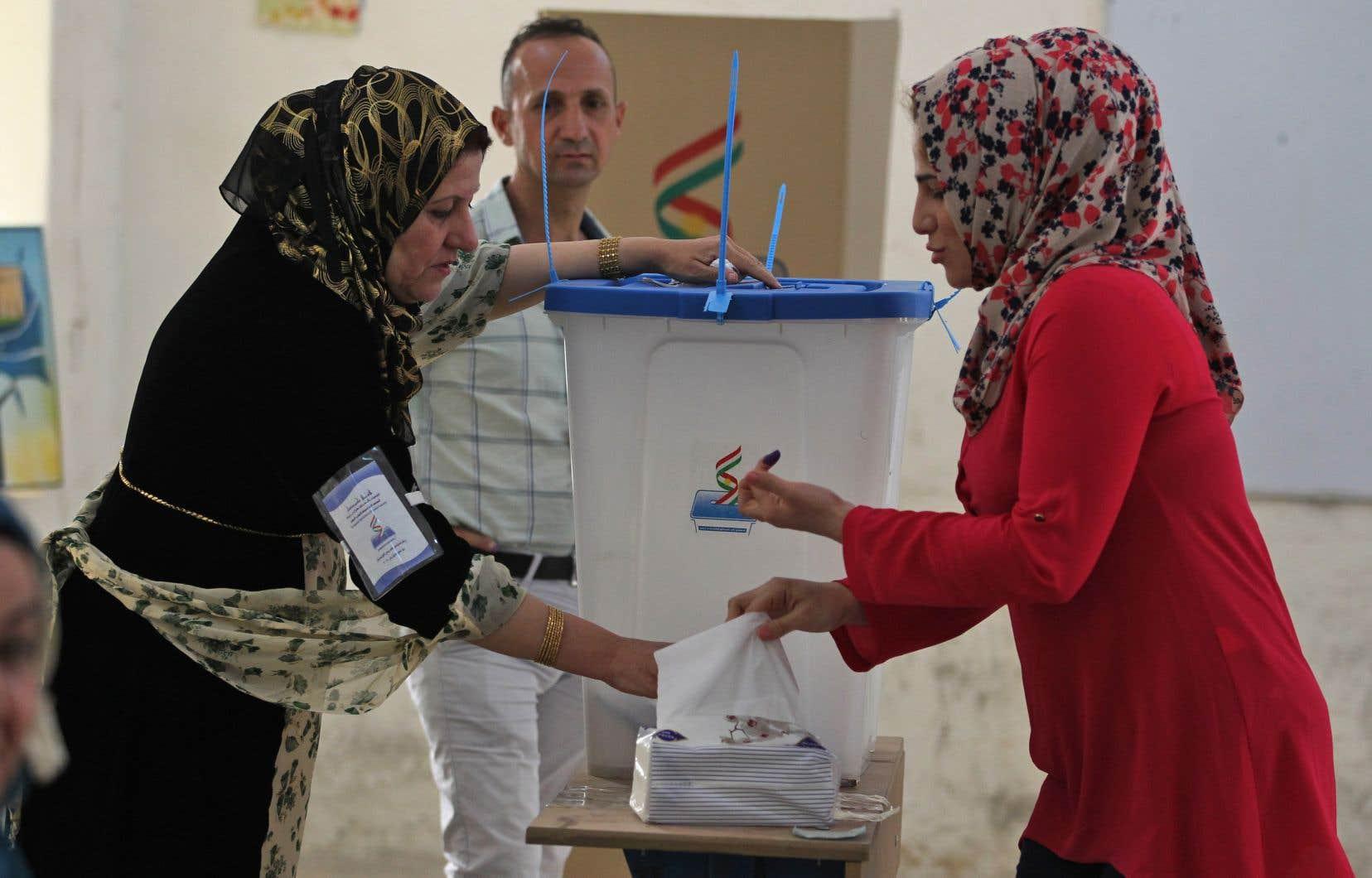 Le référendum pour l'indépendance du Kurdistan irakien a été organisé le 25 septembre dernier.
