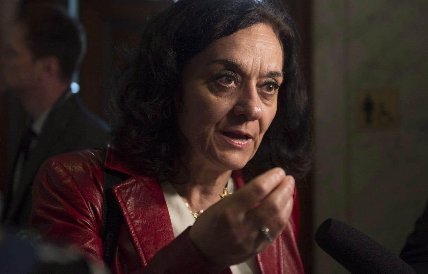L'ex-ministre Rita de Santis