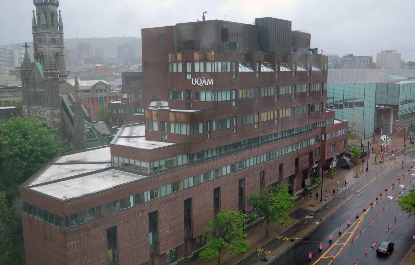 La pavillon central de l'Université du Québec à Montréal