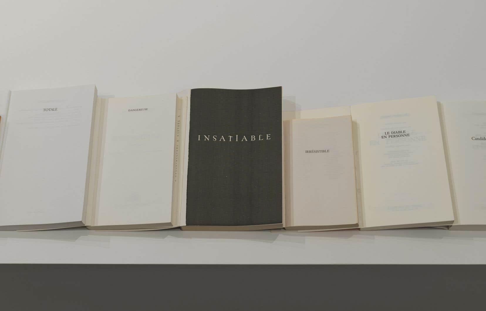Sophie Jodoin, «Toi que jamais je ne termine (détail)», 2017.