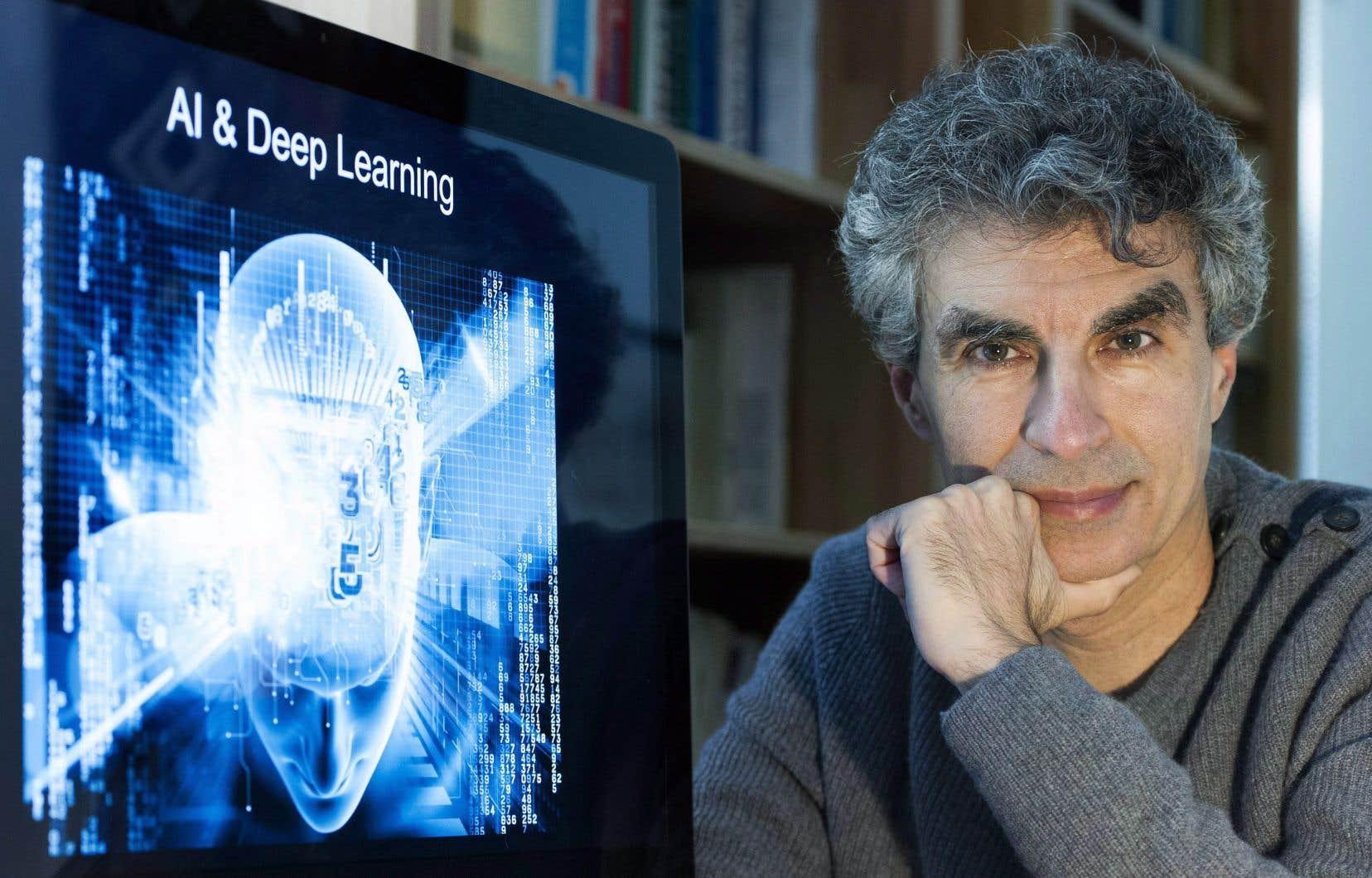 Le professeur et expert en intelligence artificielle Yoshua Bengio