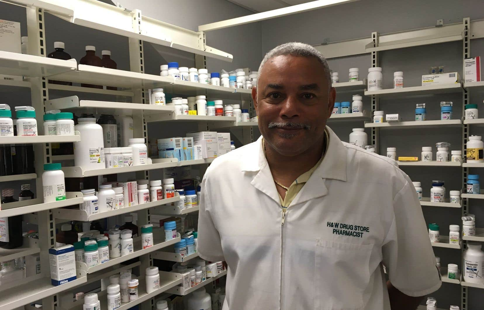 Le pharmacien Ruston Henry