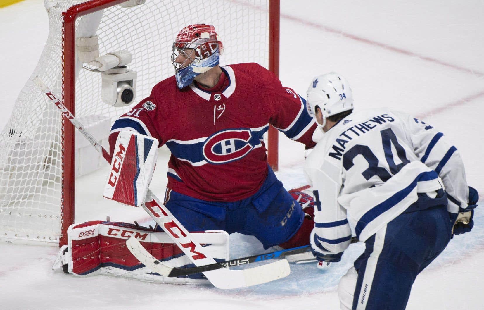 Les Maple Leafs ont finalement eu le dernier mot 4-3 en prolongation gracieuseté d'Auston Matthews.