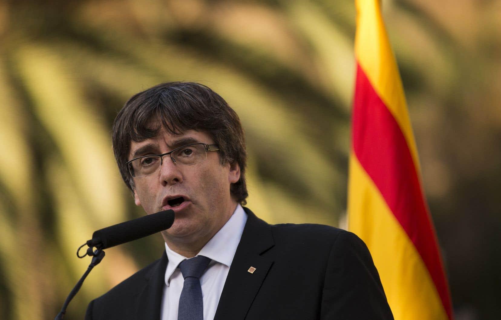 Quoique fasse Carles Puigdemont, il est probable que des manifestations auront lieu la semaine prochaine en Catalogne.