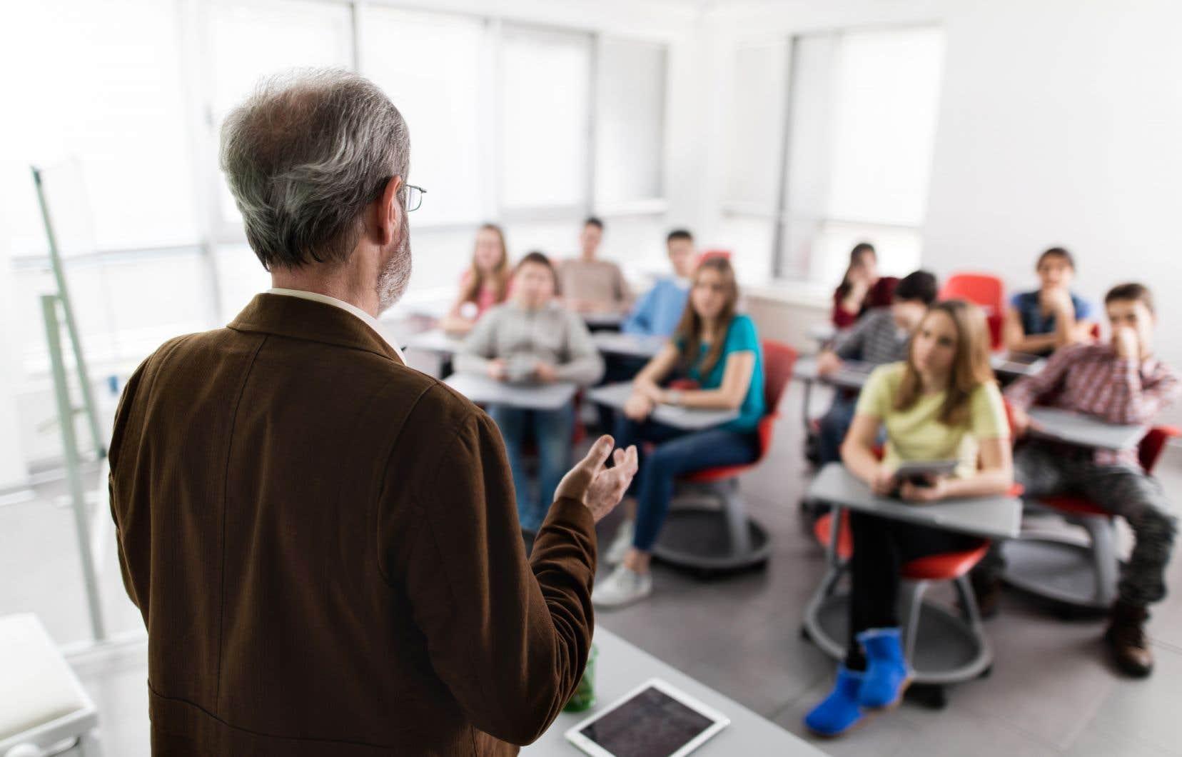 «Le cours d'éducation financière auquel les élèves sont désormais assujettis se borne à les outiller pour la gestion de leurs revenus et dépenses personnels afin qu'ils puissent accroître leur