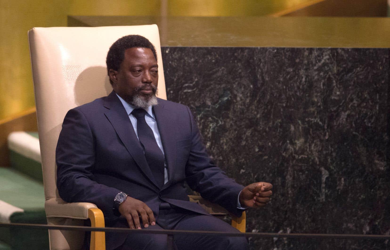 Le président de la République démocratique du Congo, Joseph Kabila